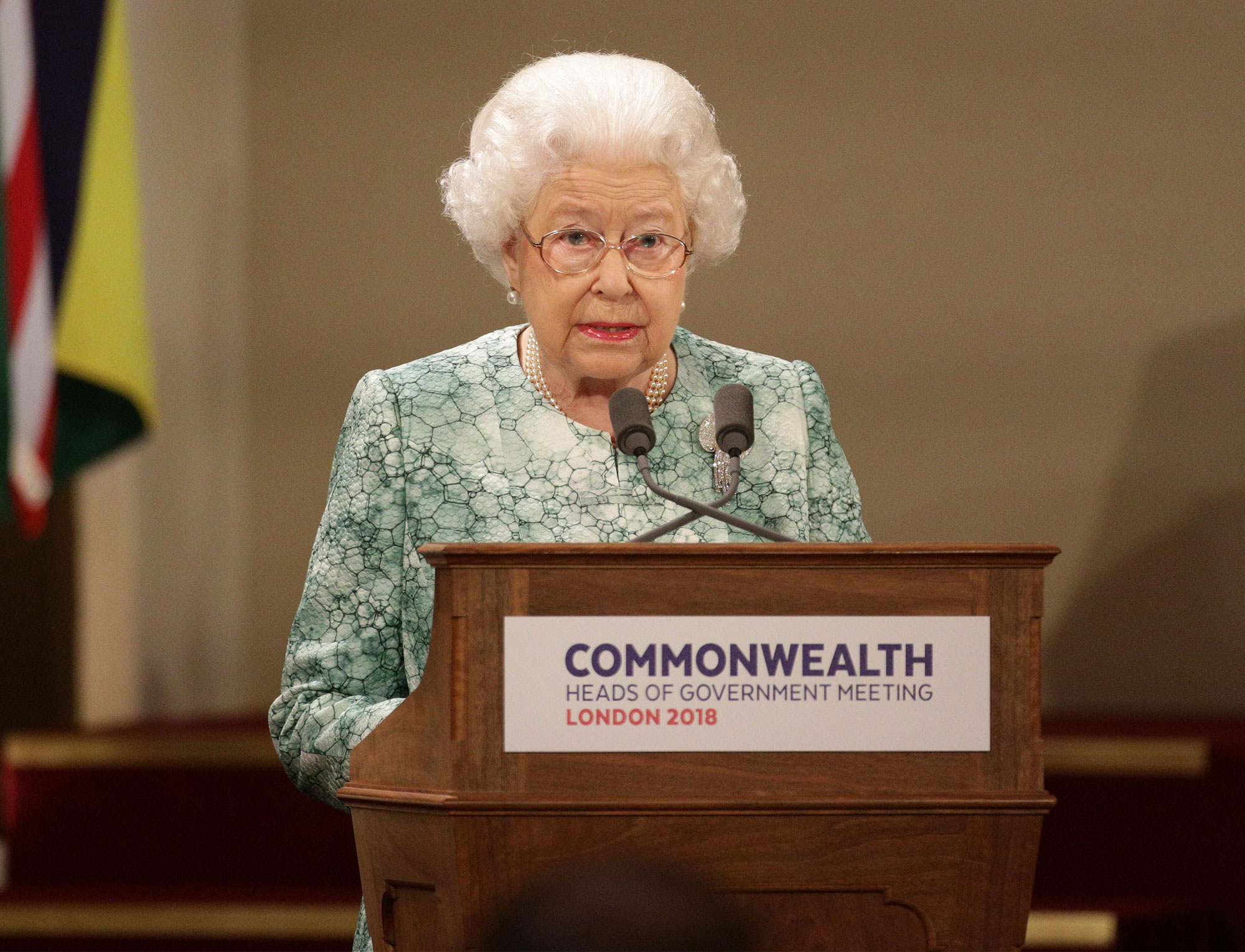 Commonwealth Heads of Government Meeting, London, UK - 19 Apr 2018