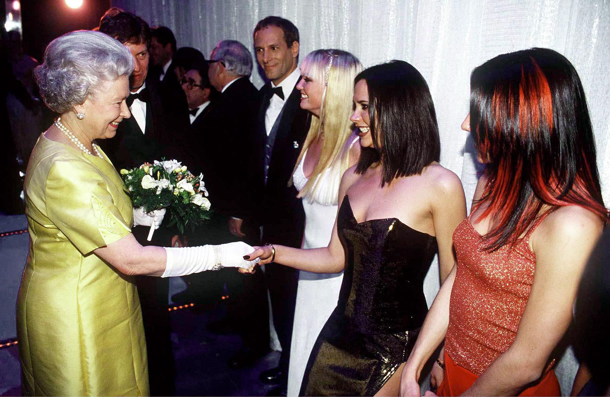 Queen With Spice Girls