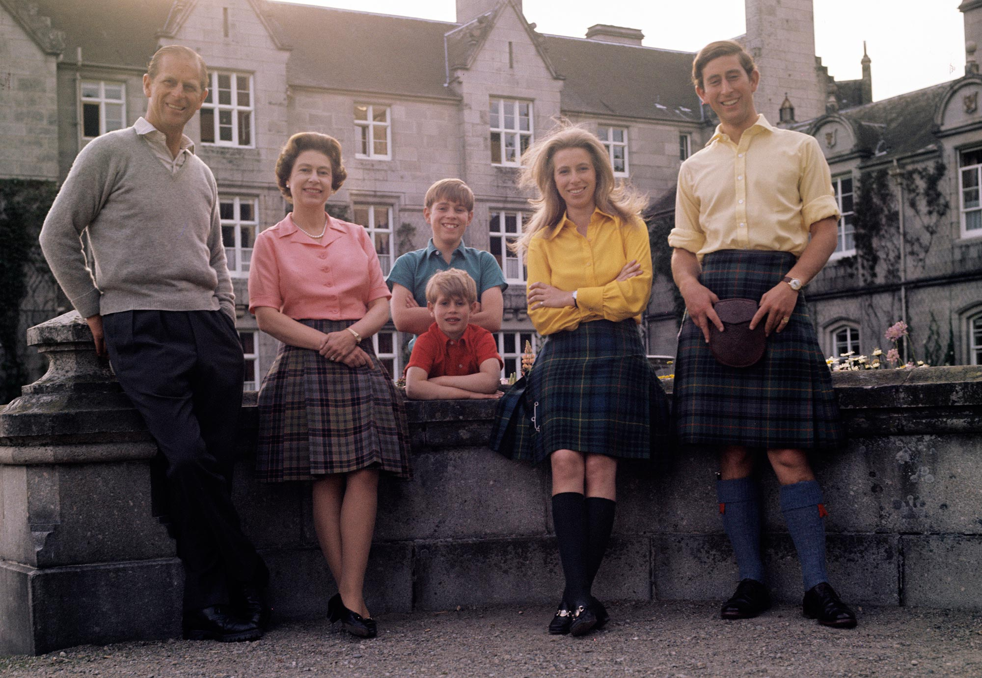 Royal Family Group at Balmoral