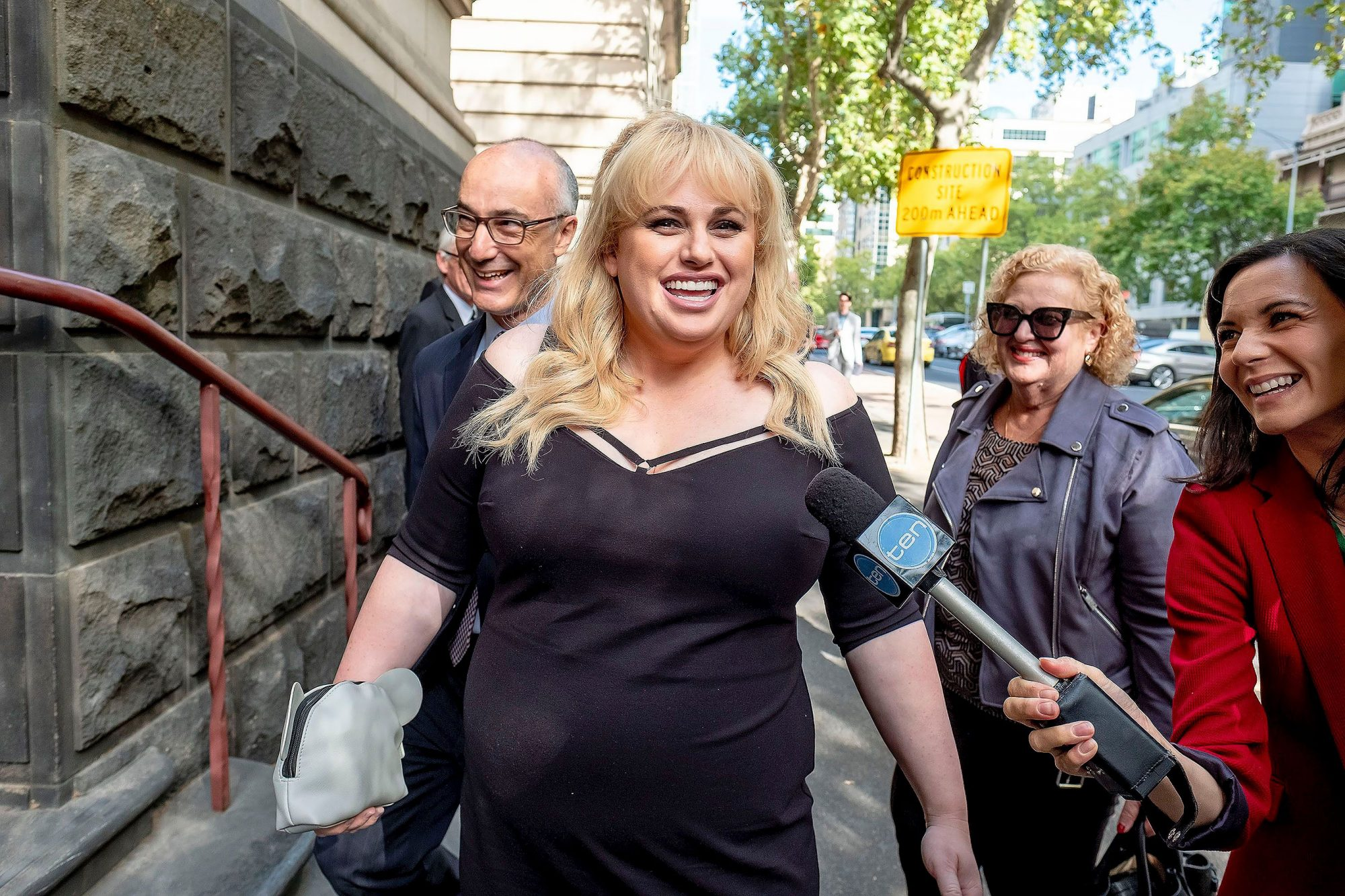 Australian actress Rebel Wilson's defamation case, Melbourne, Australia - 19 Apr 2018