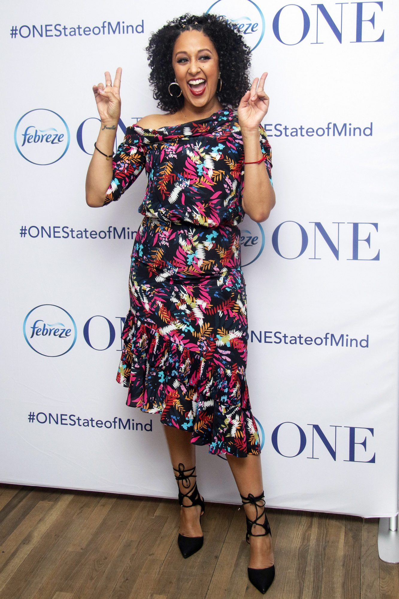Tamera Mowry-Housley One Happy Home Video Series Launch With Febreze