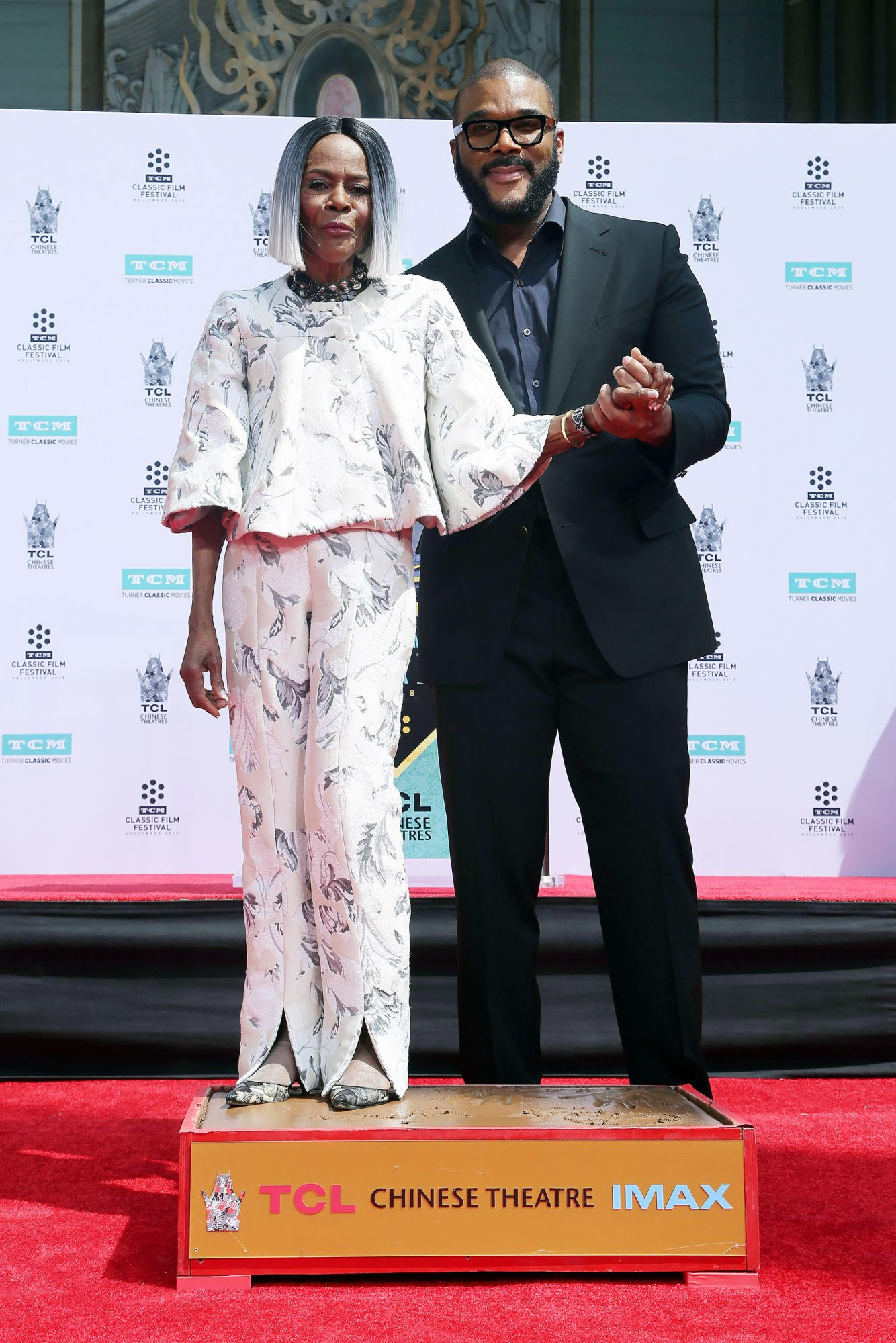 Cicely Tyson Hand and Footprint Ceremony, Los Angeles, USA - 27 Apr 2018