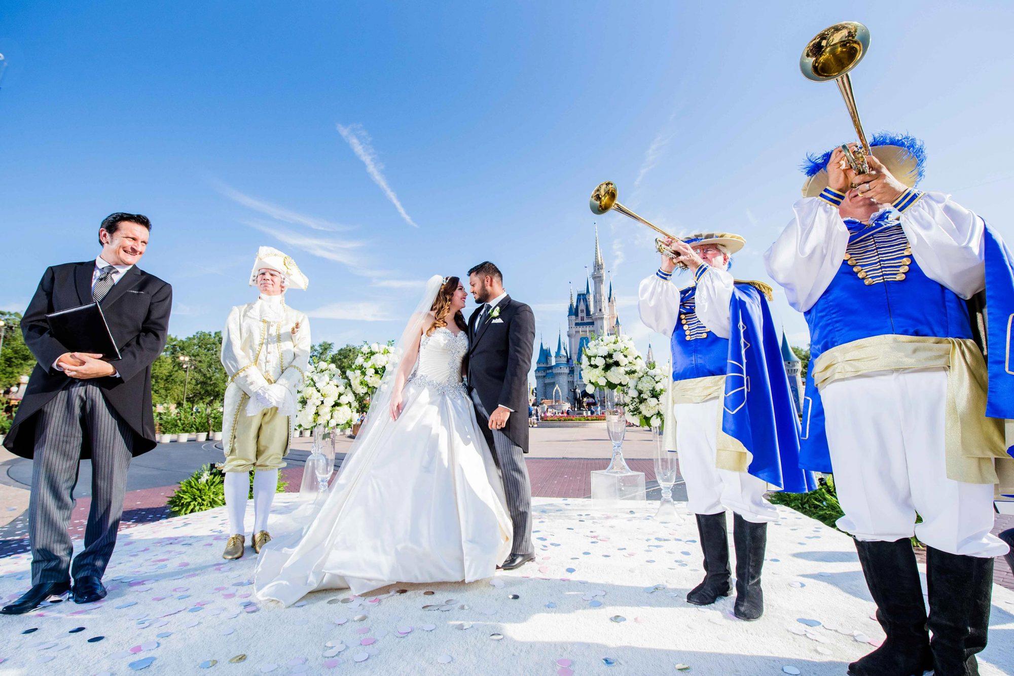 Texas Couple Surprised with Dream Wedding at Walt Disney World Resort