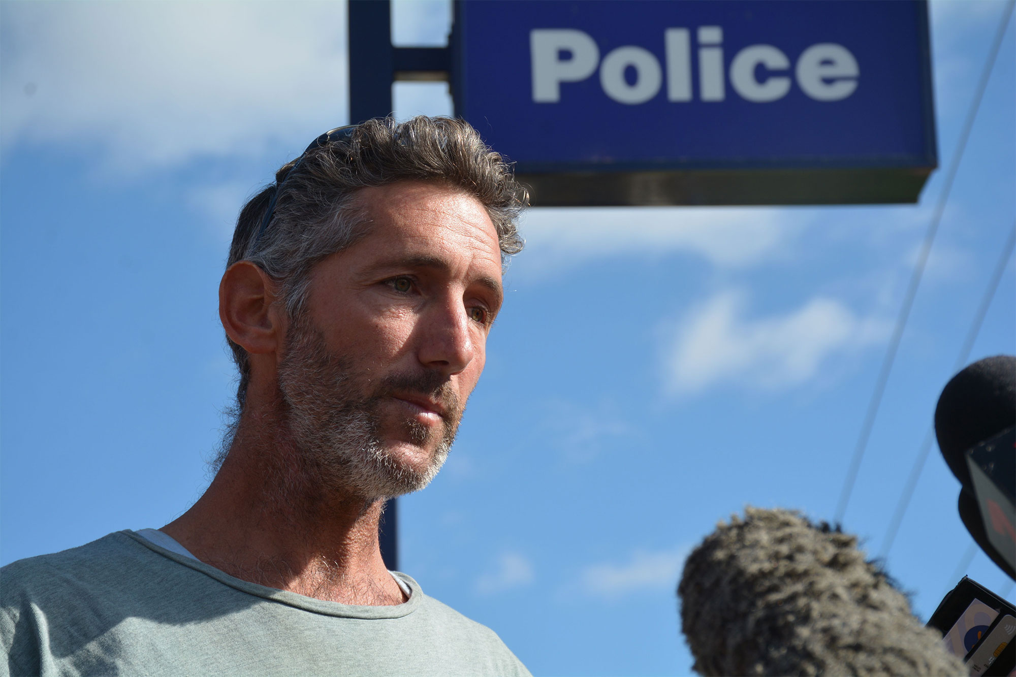 Press conference of father of four children killed near Margaret River, Western Australia - 13 May 2018