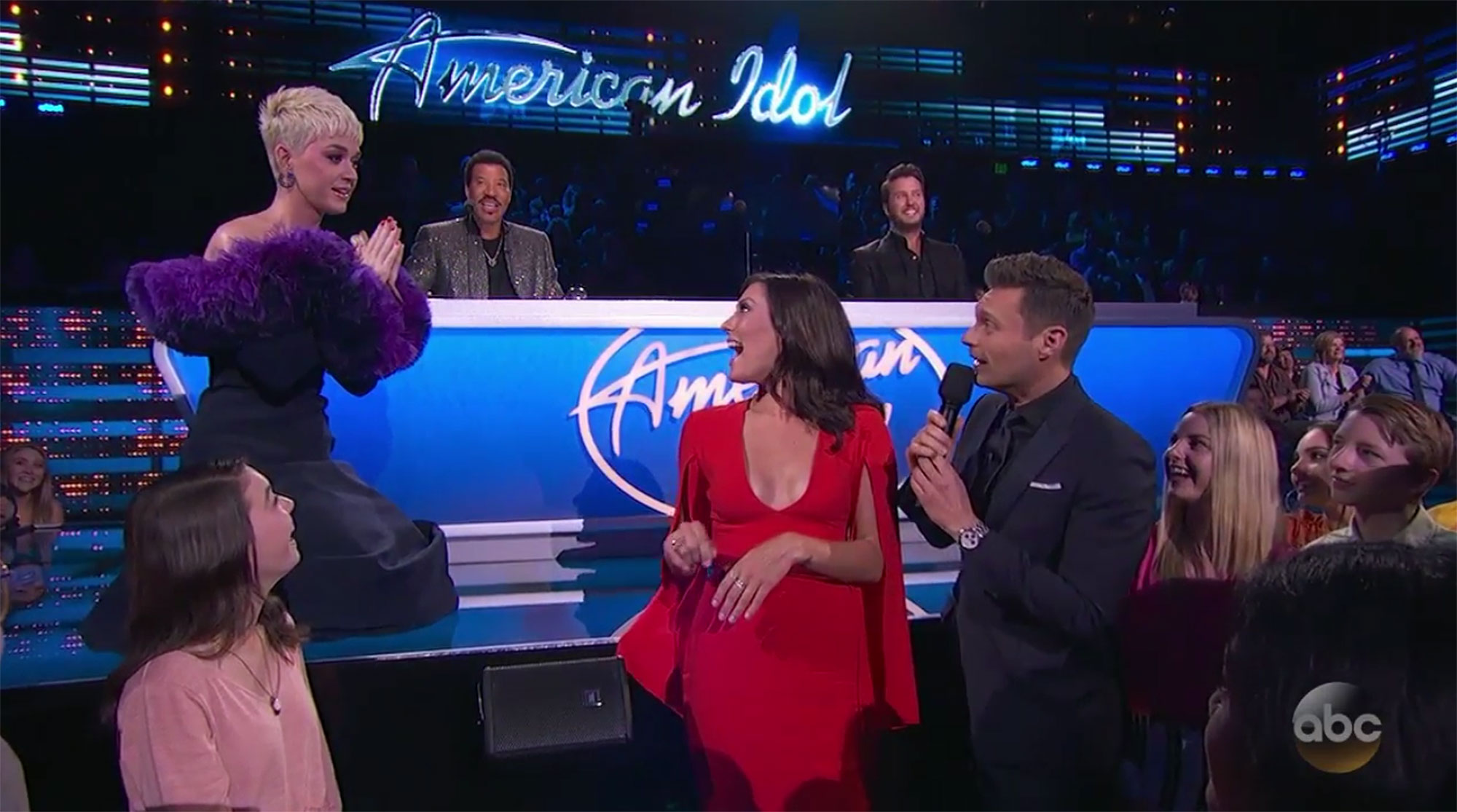 Katy Perry Americal IdolCredit: ABC