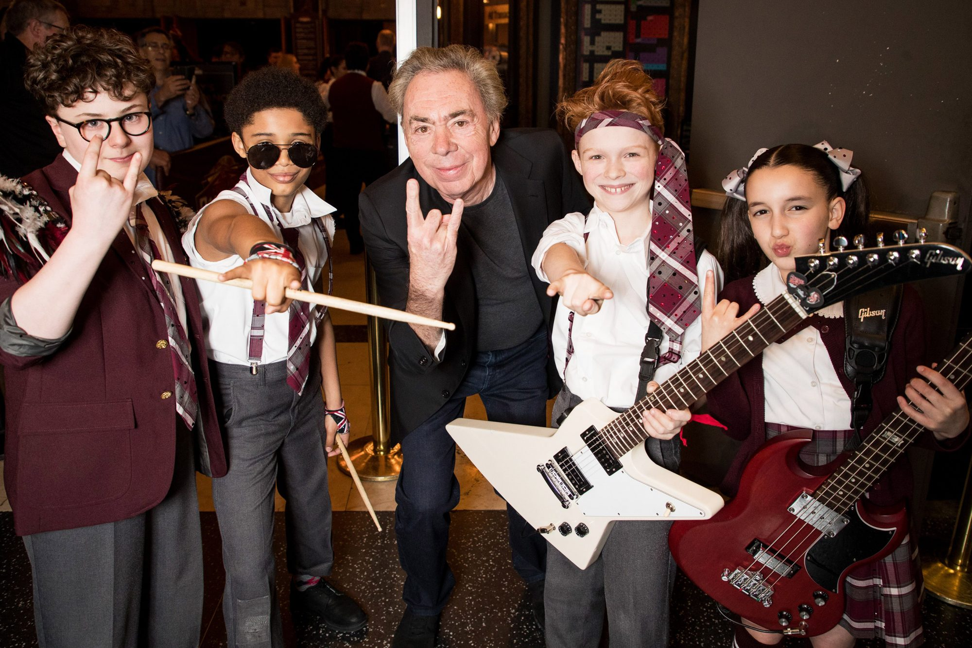 'School of Rock' Opening Night, Pantages Theatre, Los Angeles, USA - 03 May 2018