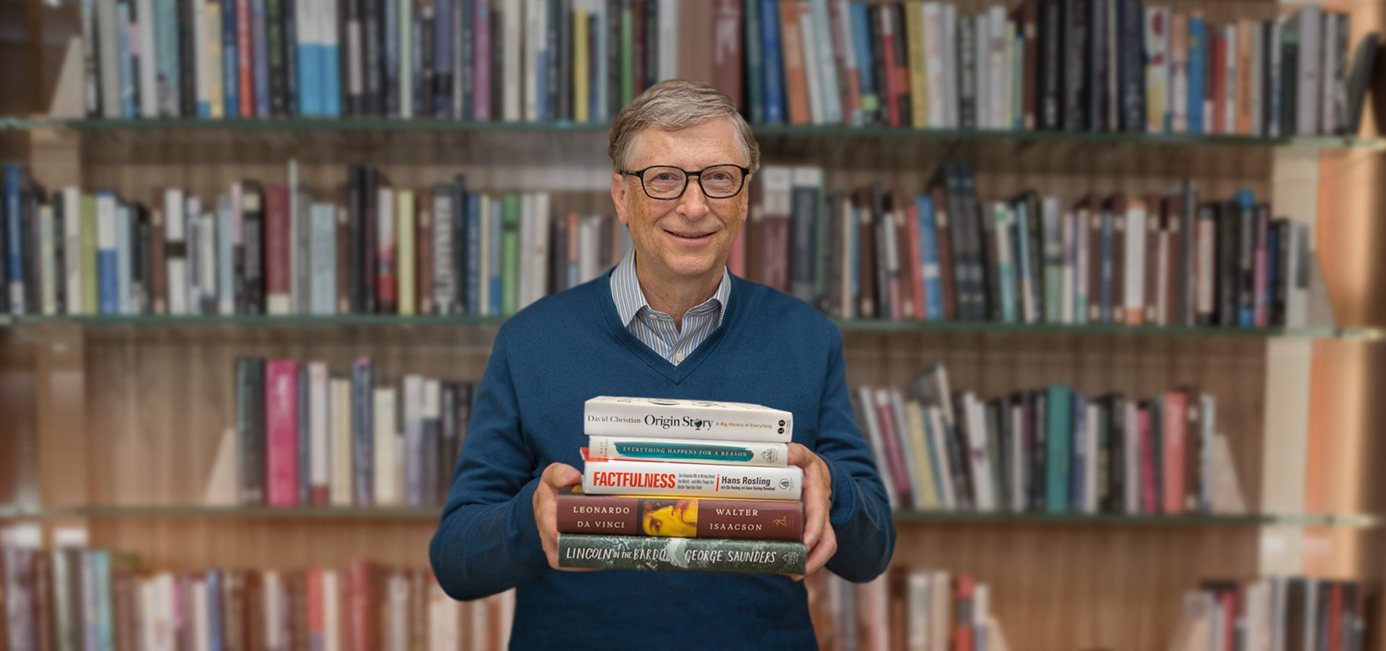 Bill Gates Summer Books 2018_Photo Credit The Gates Notes LLC