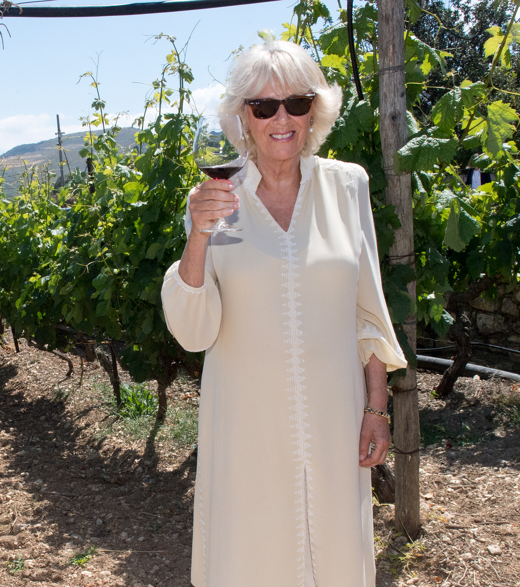 Prince Of Wales And Duchess Of Cornwall Visit Greece
