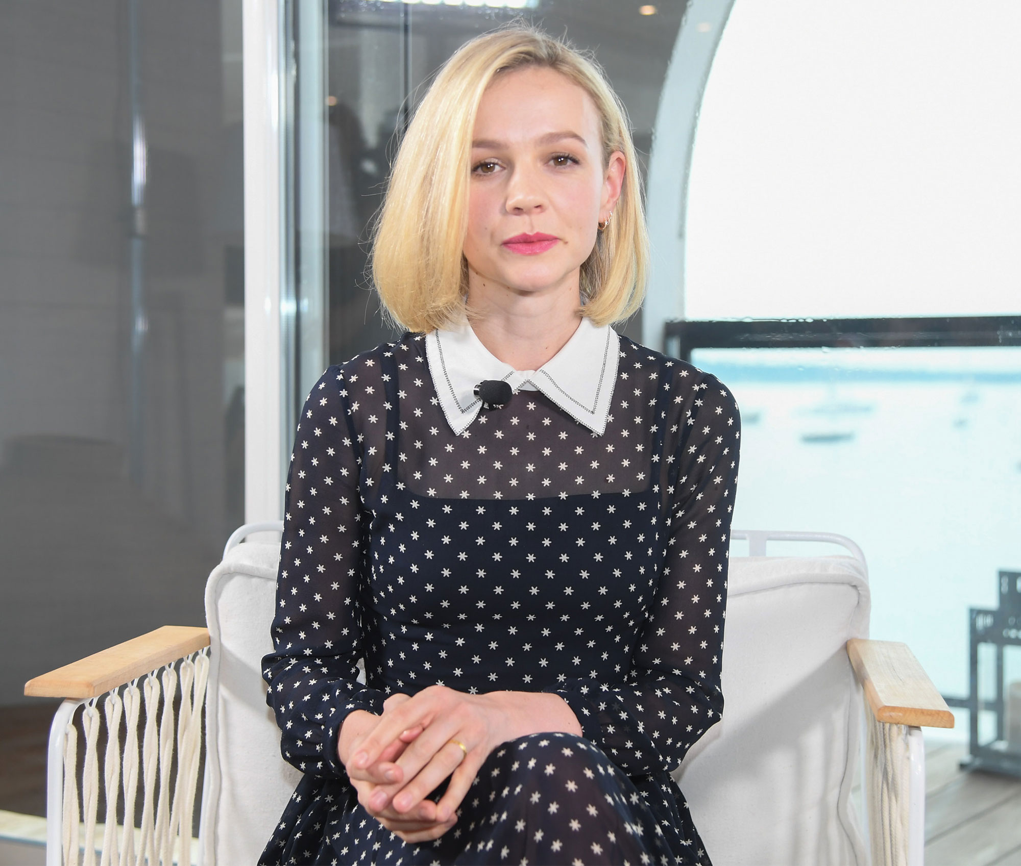 Kering Women In Motion: Carey Mulligan - The 71st Annual Cannes Film Festival