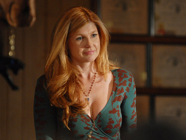 Friday Night Lights, Connie Britton | Whether she's acting as a guidance counselor or a principal, who would ever mind being sent to Mrs. Taylor's office? She's smart, all-business when she…