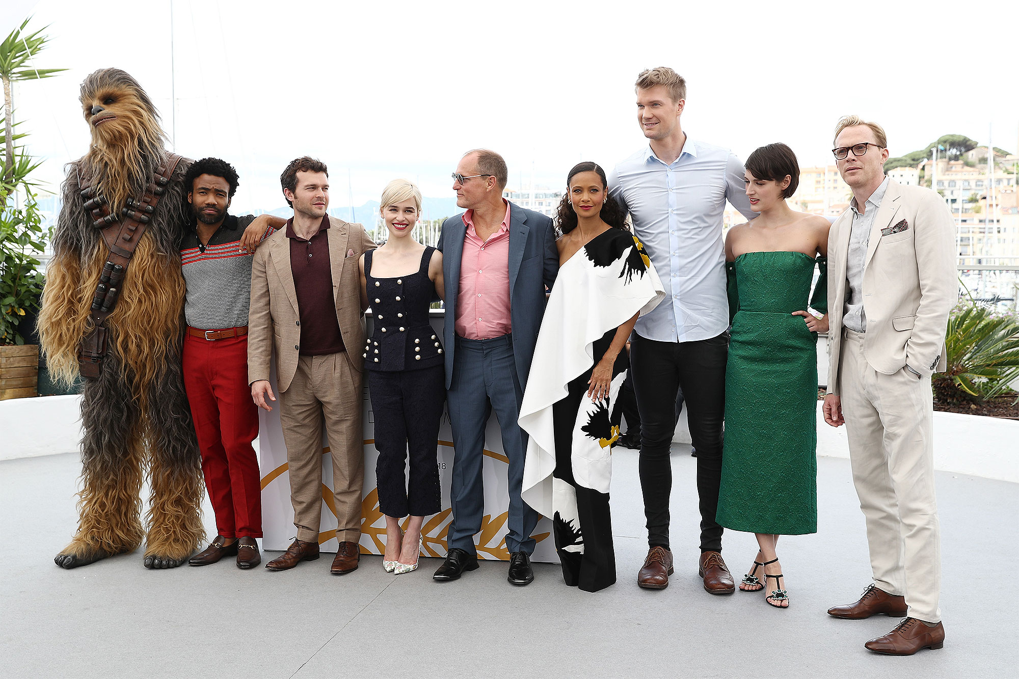 """""""Solo:  A Star Wars Story"""" Photocall - The 71st Annual Cannes Film Festival"""