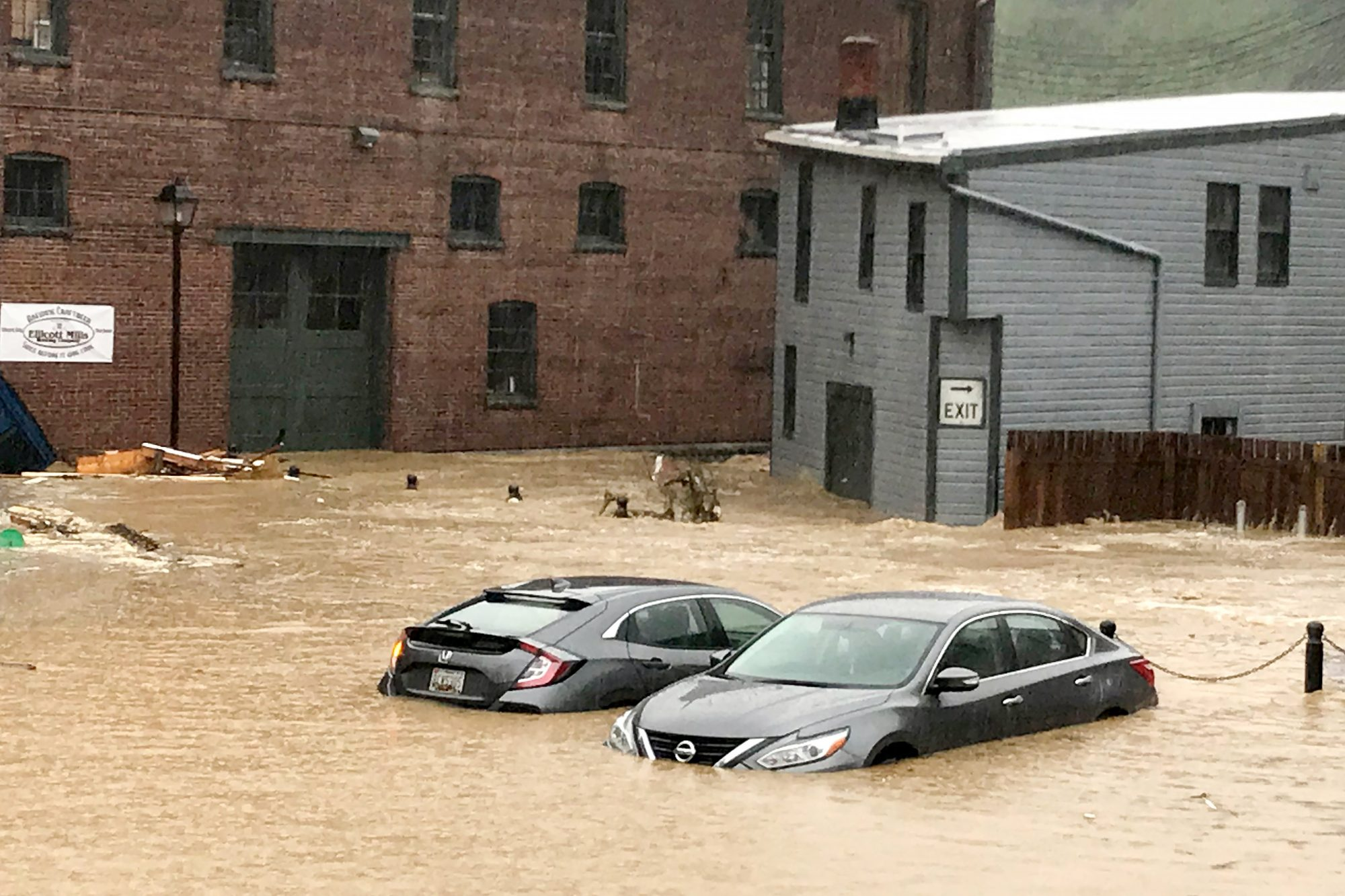 Flooding in Ellicott City