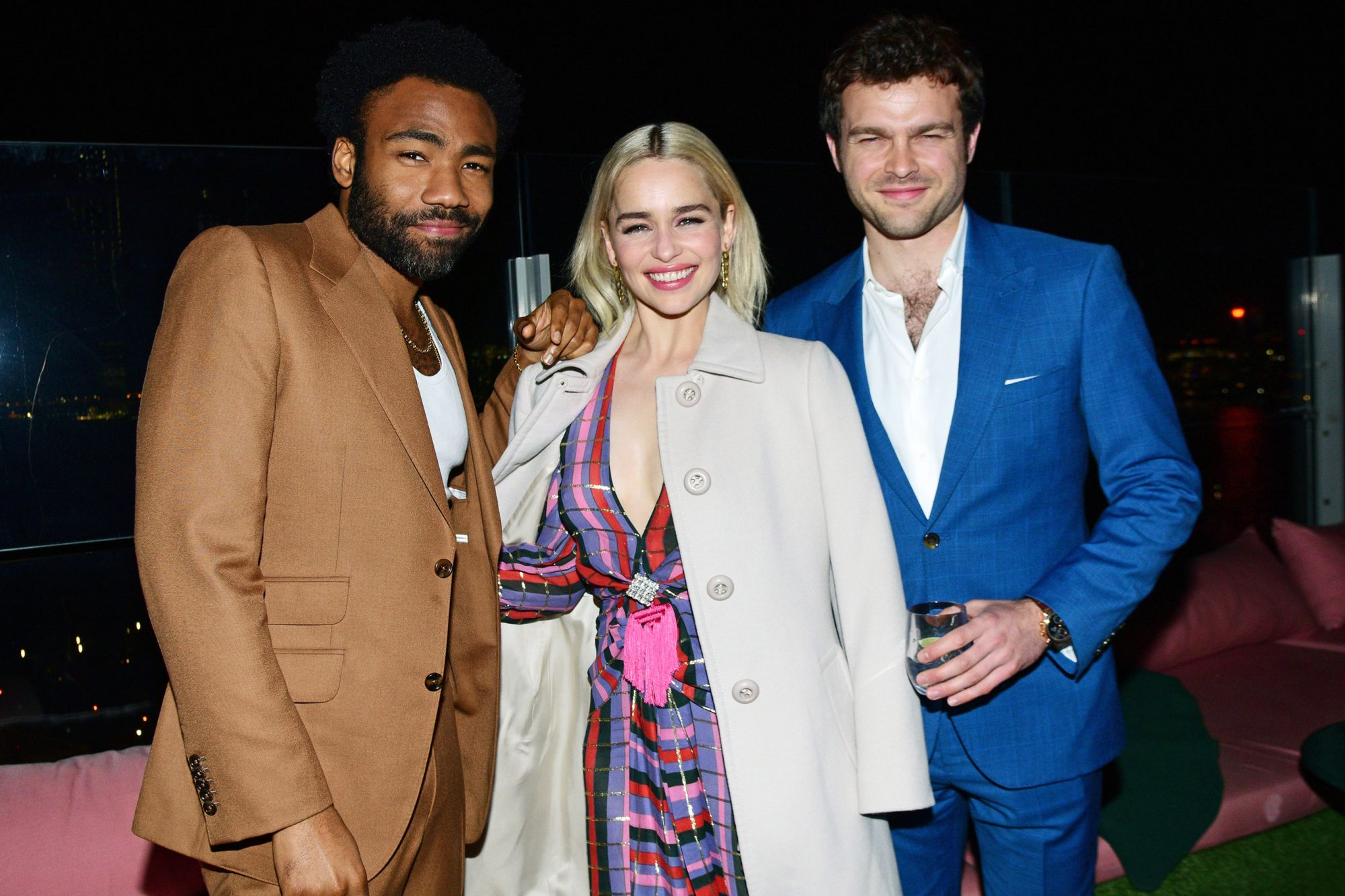 'Solo: A Star Wars Story' film premiere, After Party, New York, USA - 21 May 2018
