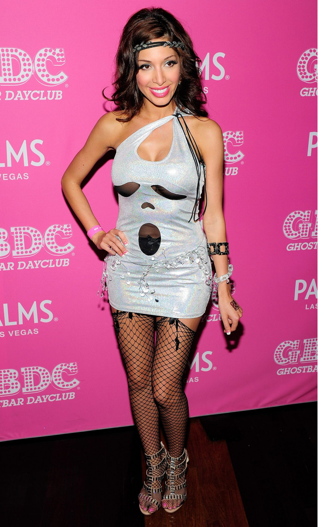 Farrah Abraham Hosts Toga Party At Ghostbar Dayclub At The Palms