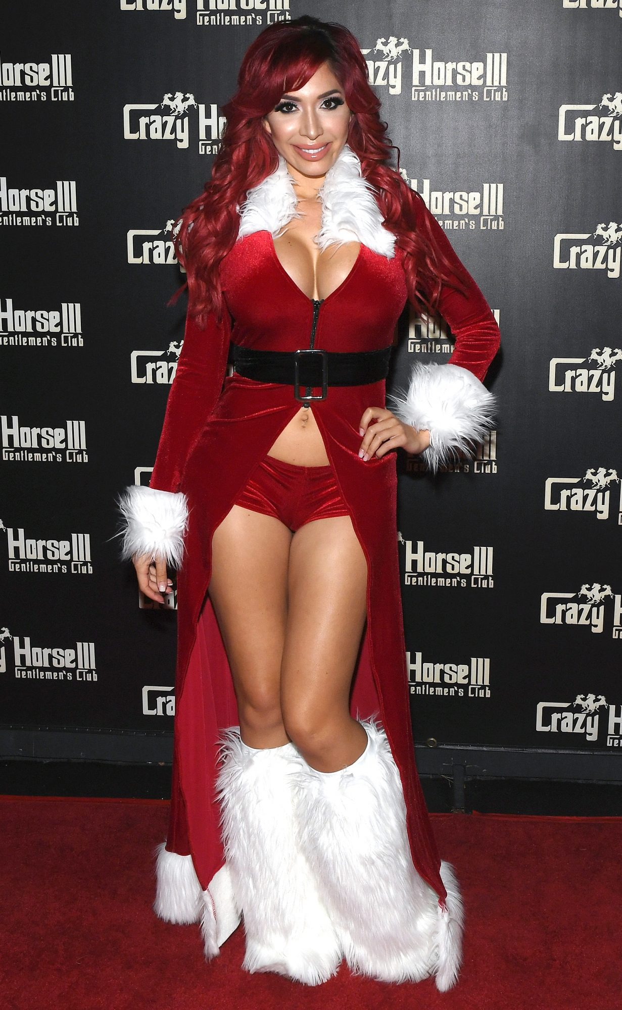 Farrah Abraham At Crazy Horse III's NEON Flow Party