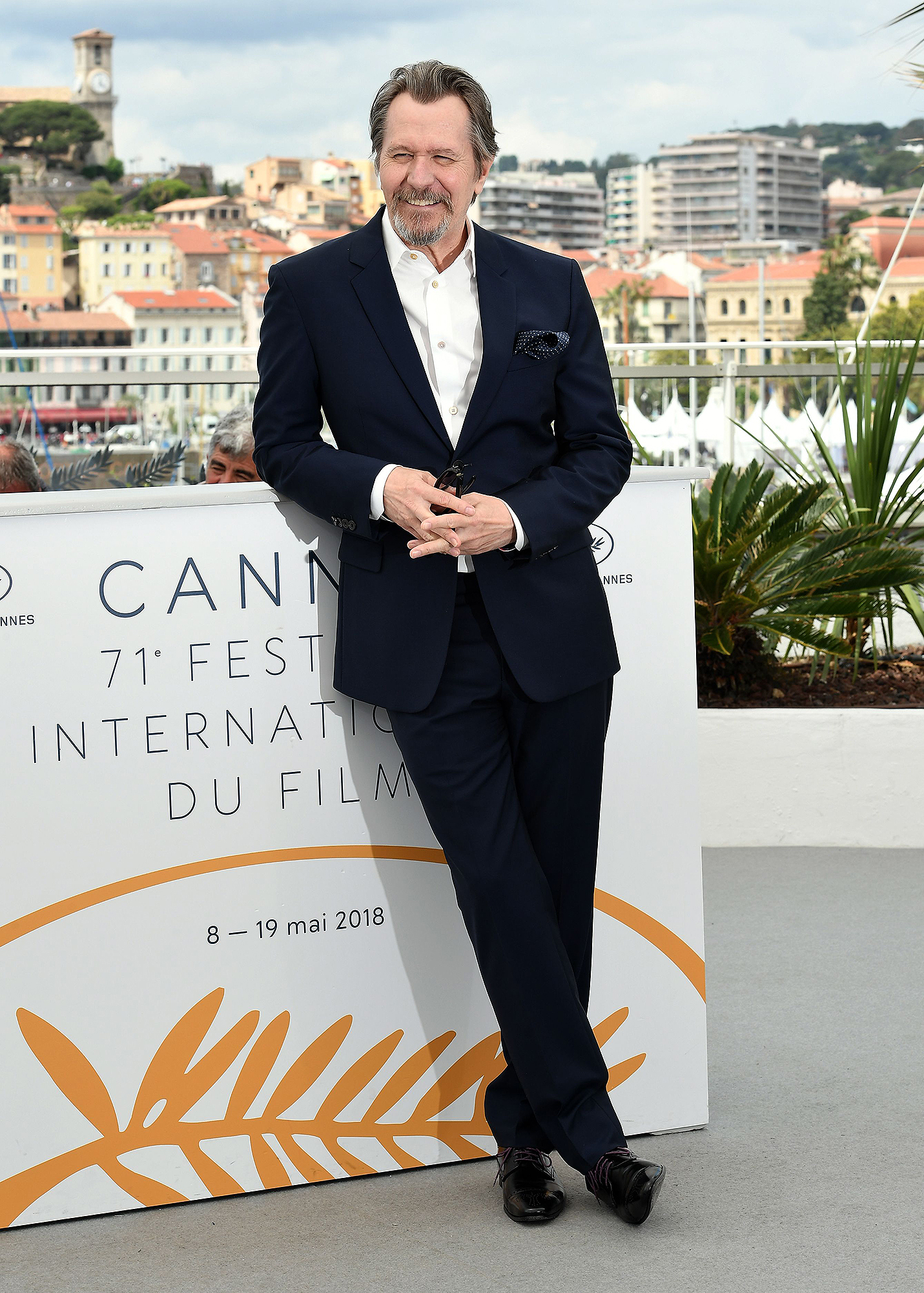 Gary Oldman photocall, 71st Cannes Film Festival, France - 17 May 2018