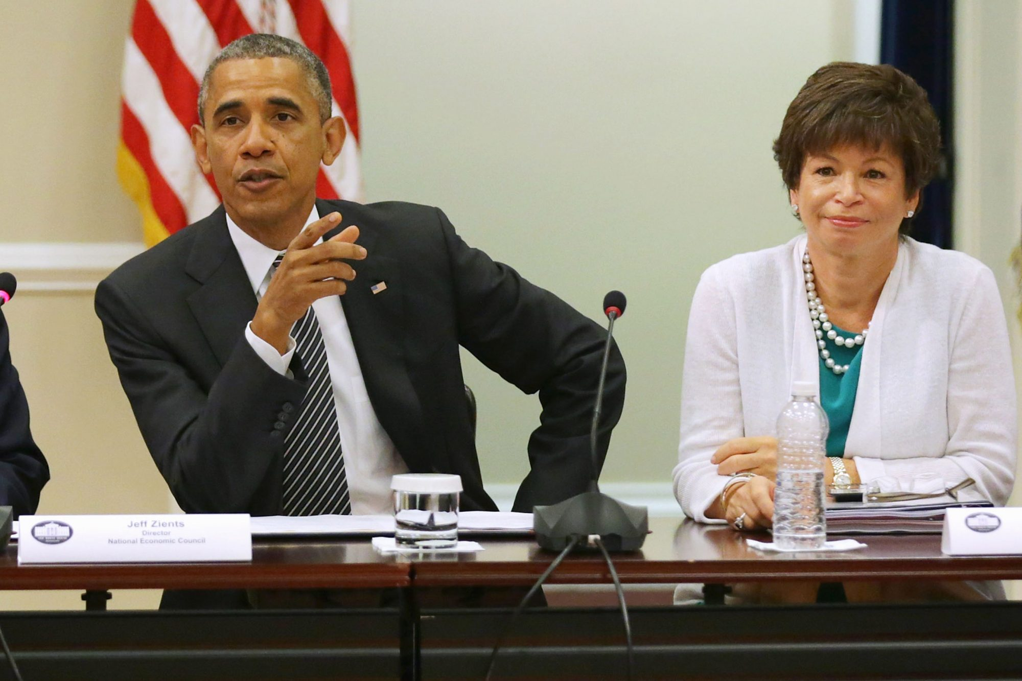 President Obama Meets With Executives And Their Small Business Suppliers