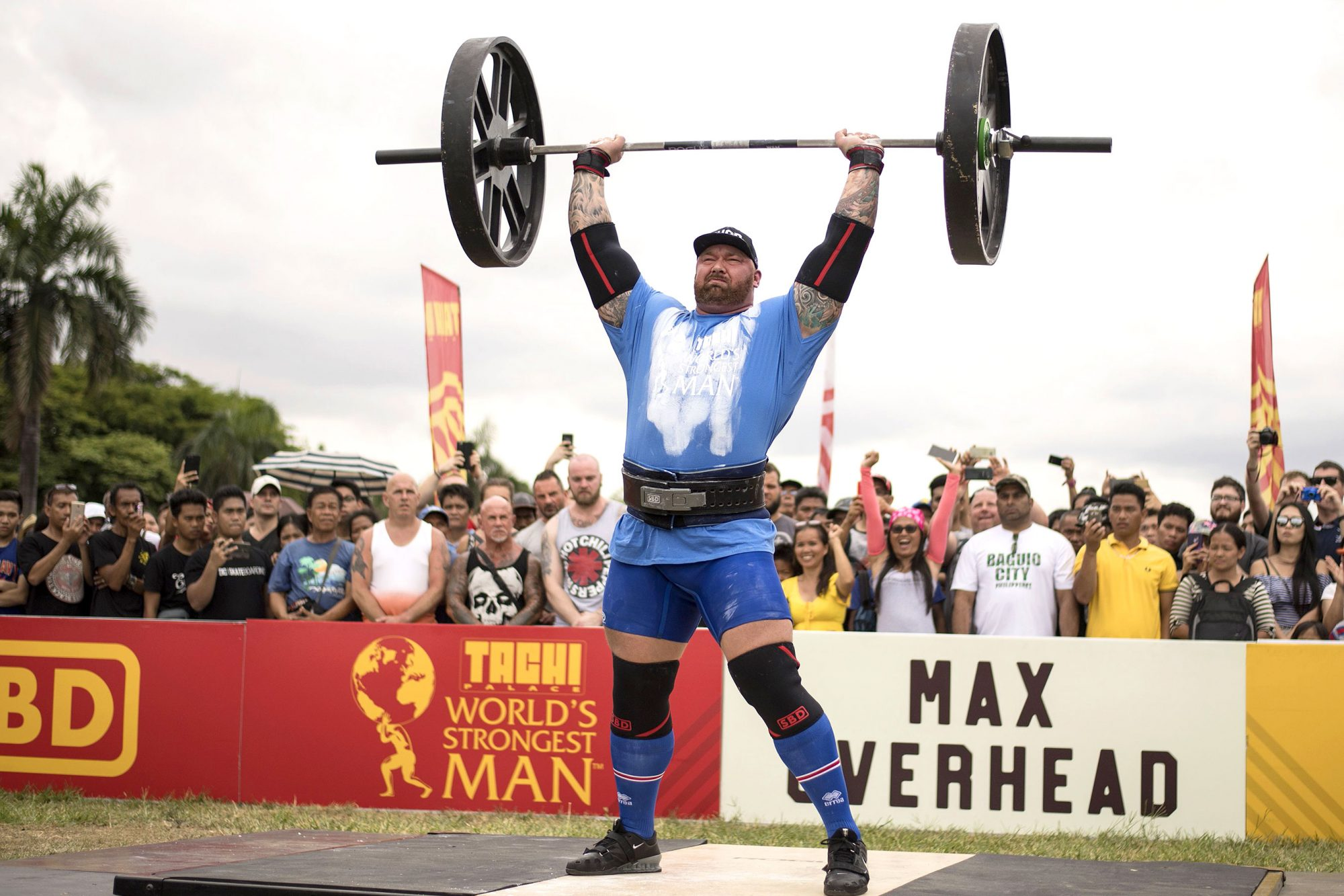 PHILIPPINES-ENTERTAINMENT-STRONGEST MAN