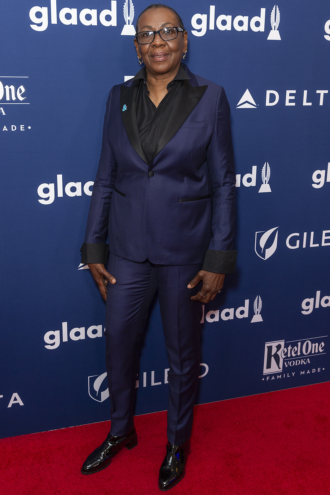 Gloria Carter attends the 29th Annual GLAAD Media Awards at