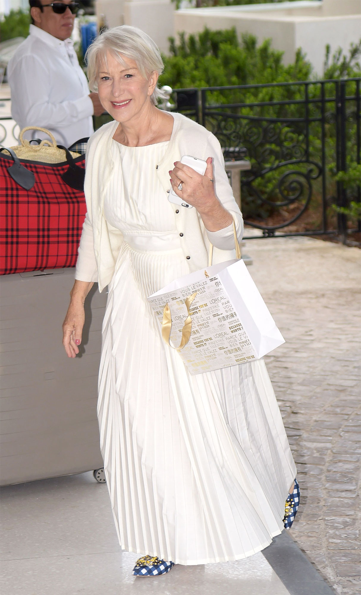 Helen Mirren out and about, 71st Cannes Film Festival, France - 13 May 2018
