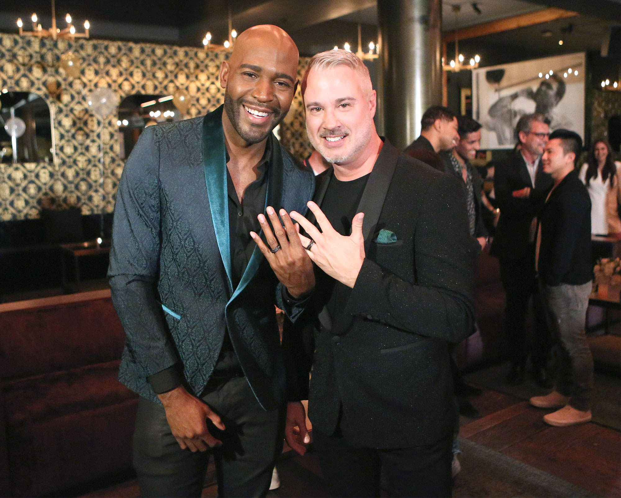 Karamo Brown Engagement Party