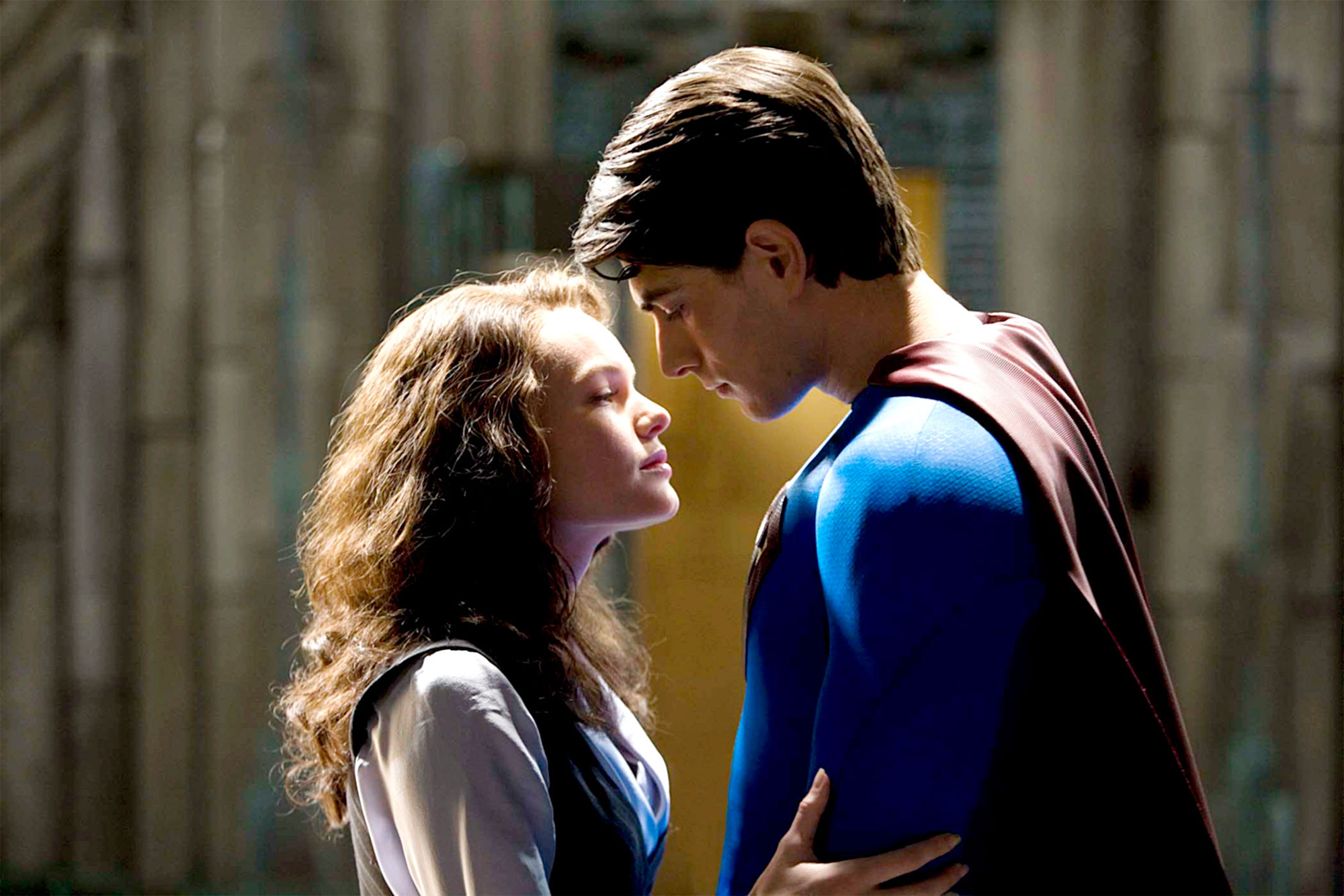 SUPERMAN RETURNS, Kate Bosworth, Brandon Routh, 2006, (c) Warner Brothers/courtesy Everett Collectio