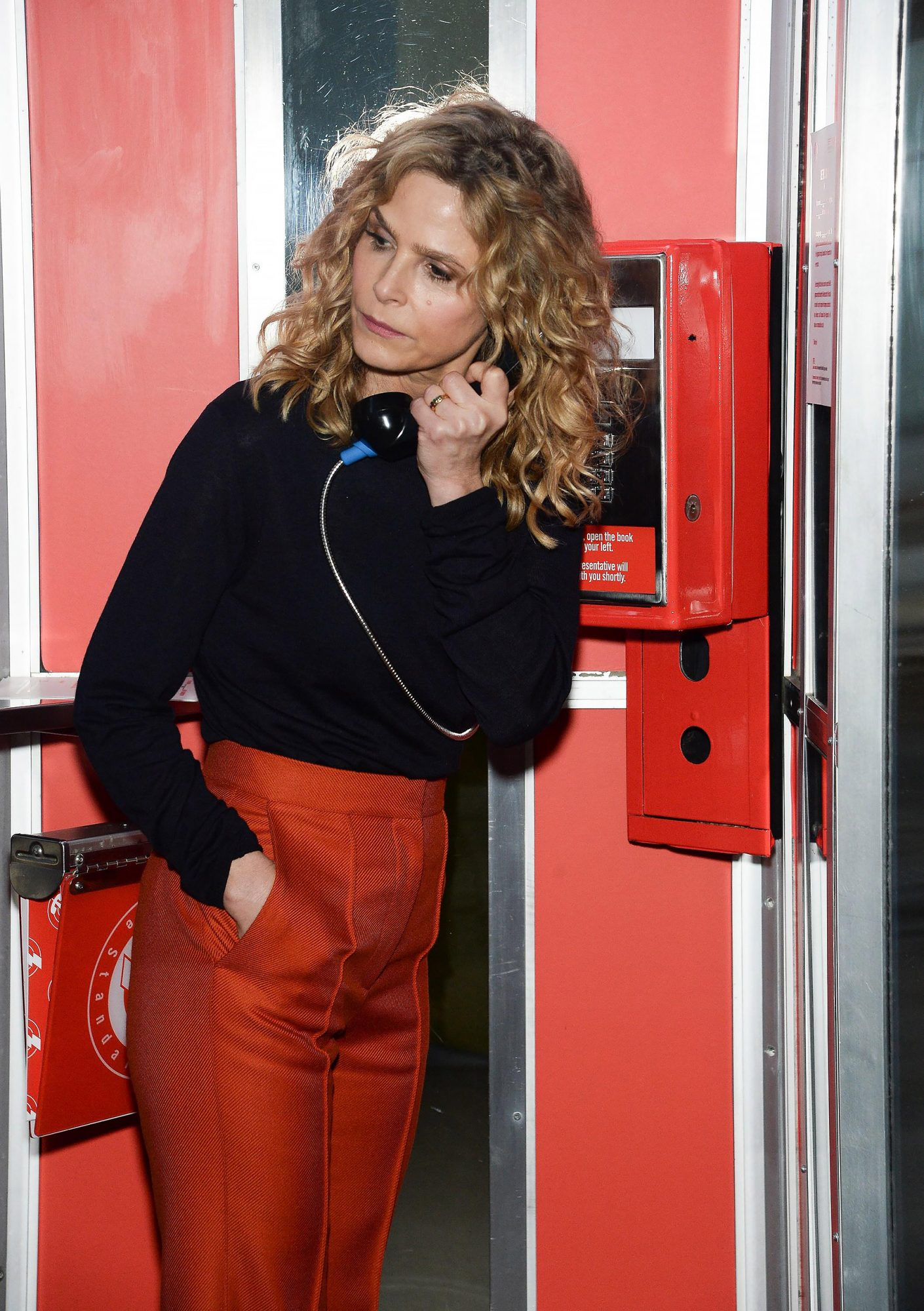 New York, NY, USA. 18th Oct, 2017. Kyra Sedgwick at the press conference for Everytown for Gun Safety Launch #RejectTheNRA Campaign, The Standard, High Line, New York, NY October 18, 2017. Credit: Eli Winston/Everett Collection/Alamy Live News
