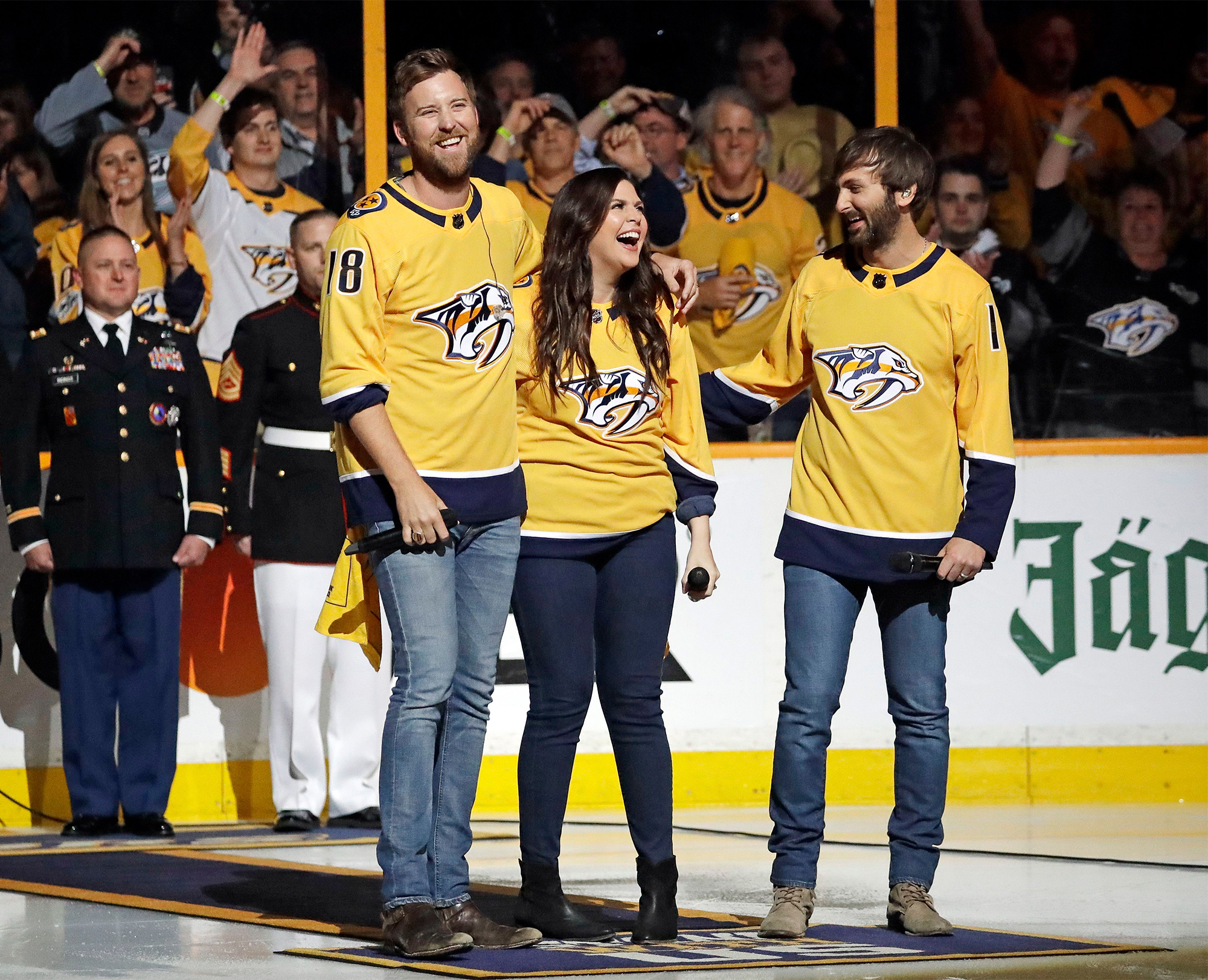 Jets Predators Hockey, Nashville, USA - 05 May 2018