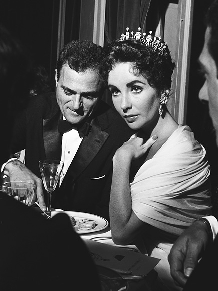 The 10Th Cannes Film Festival 1957: Elizabeth Taylor Todd And Mike.