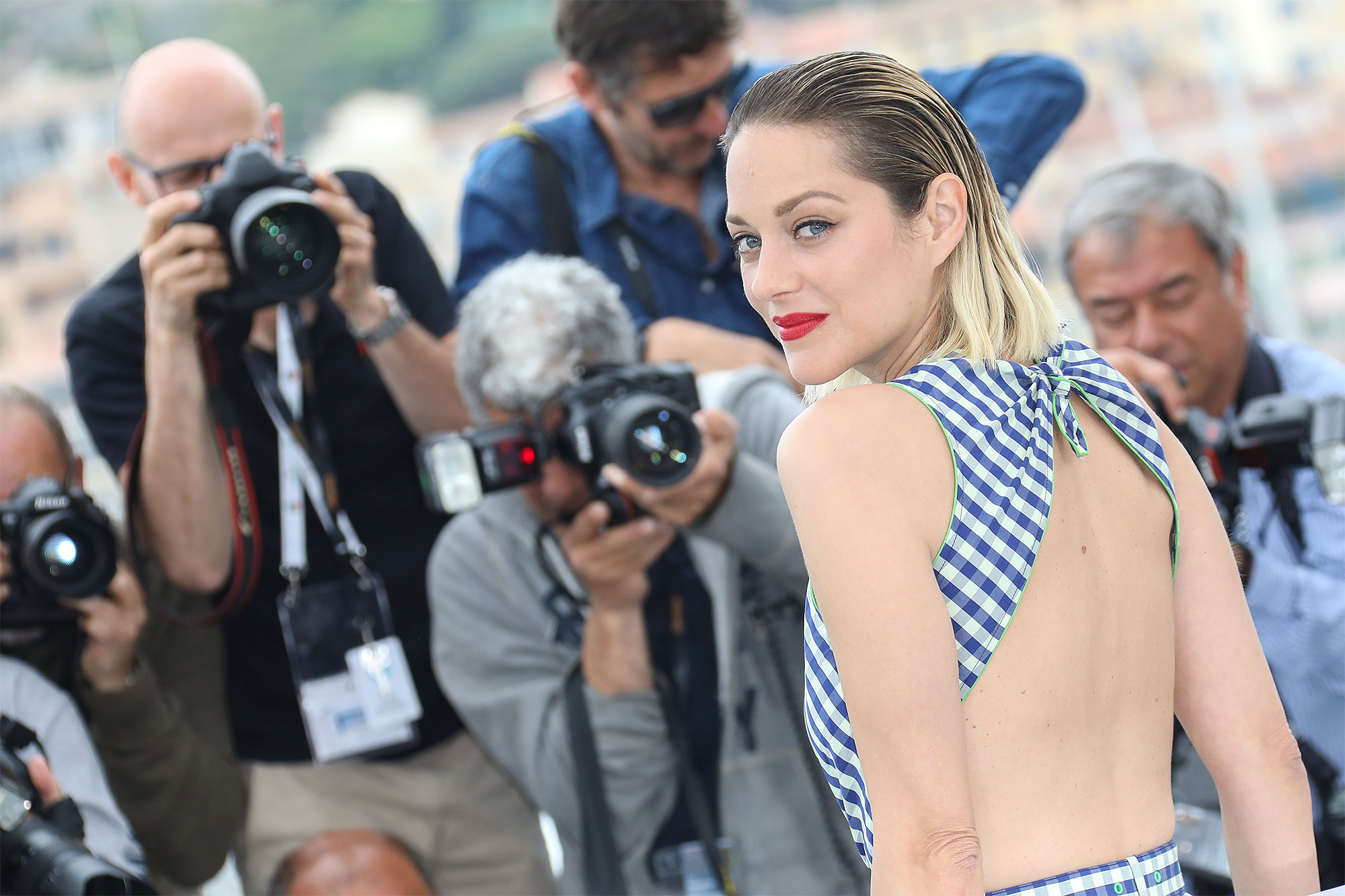"""""""Angel Face (Gueule D'Ange)"""" Photocall - The 71st Annual Cannes Film Festival"""