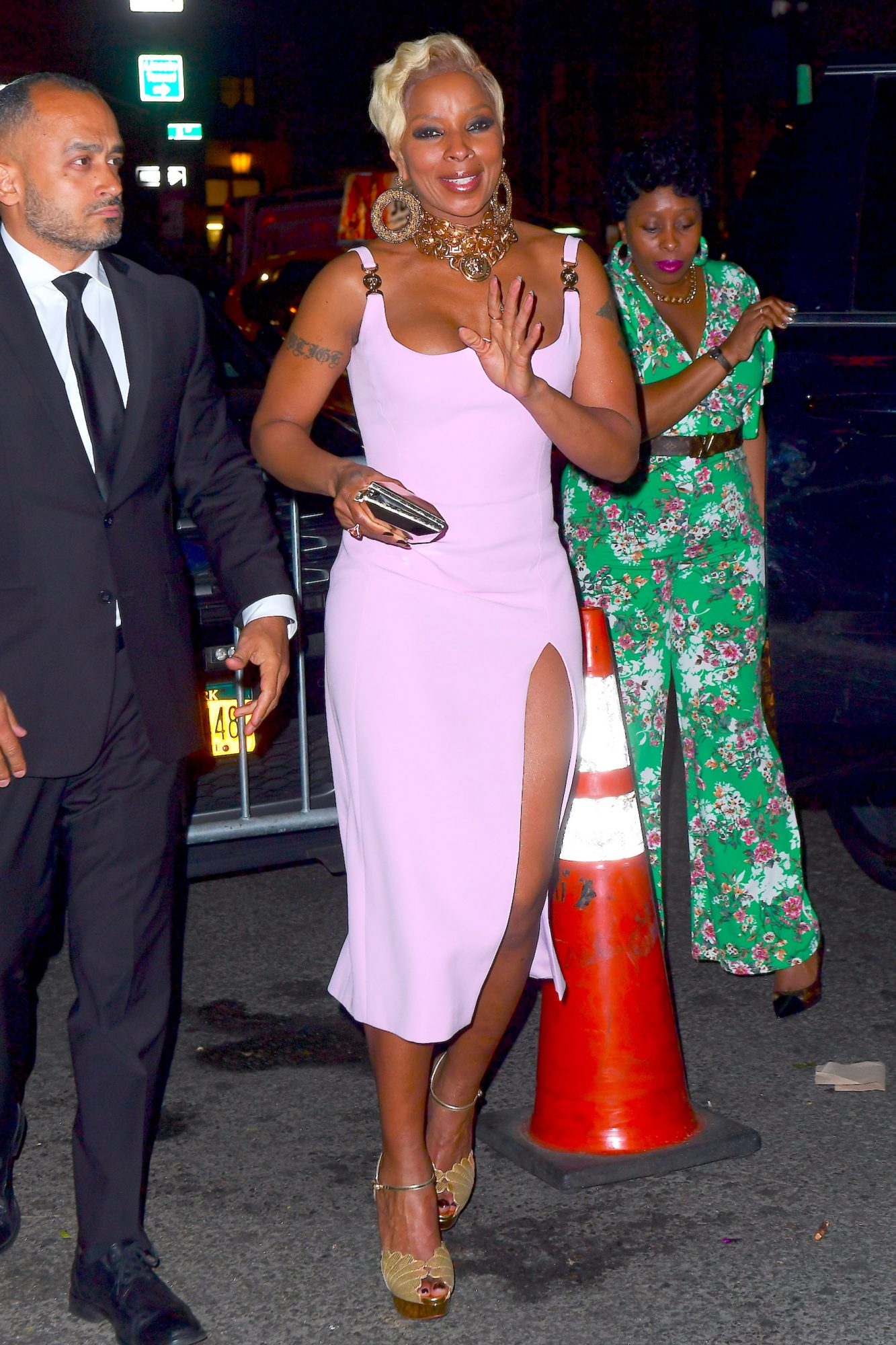Sean Diddy Combs and Cassie Party with Mary J Blige at Met Gala After Party