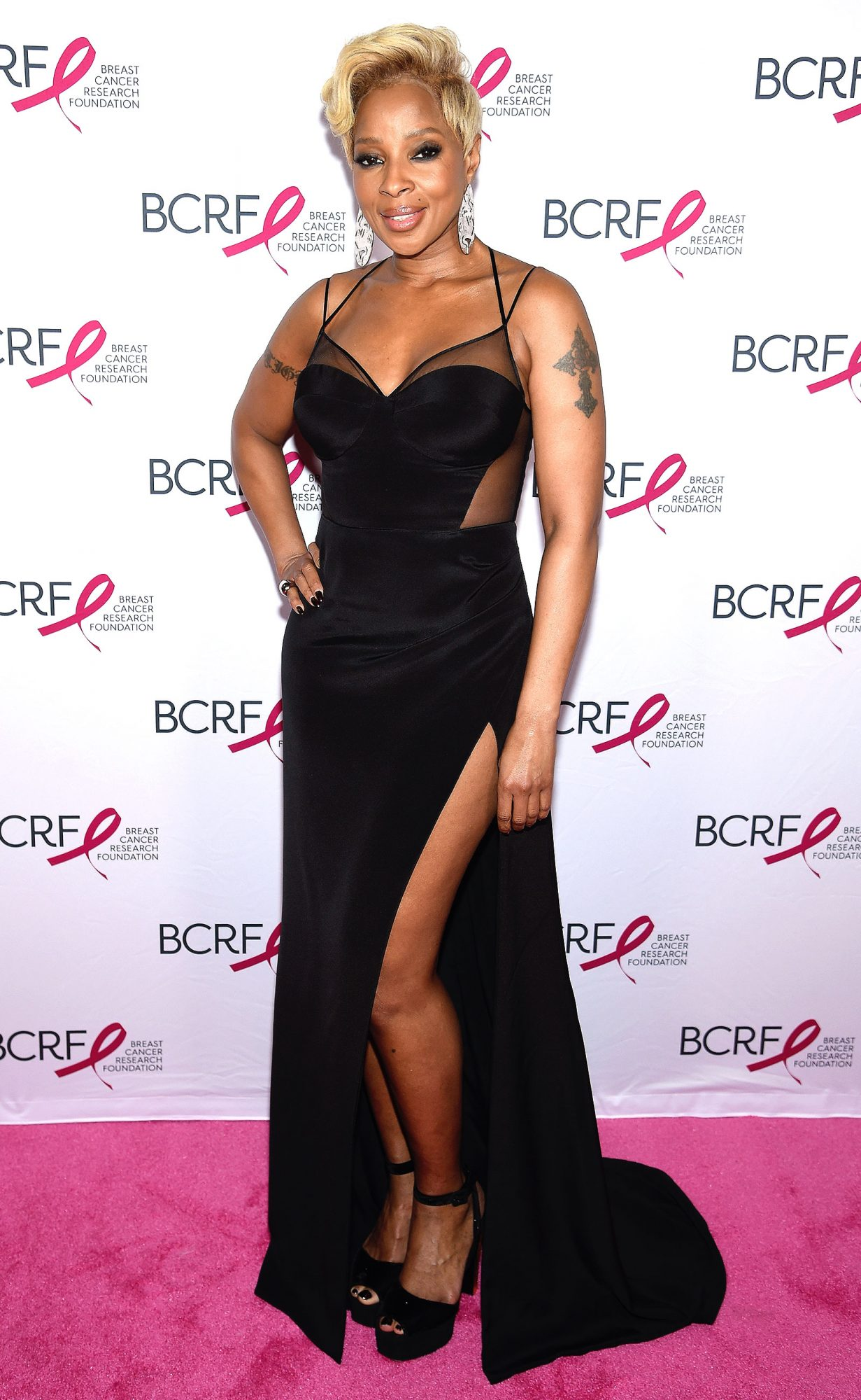 Breast Cancer Research Foundation Hot Pink Gala Hosted By Elizabeth Hurley - Arrivals