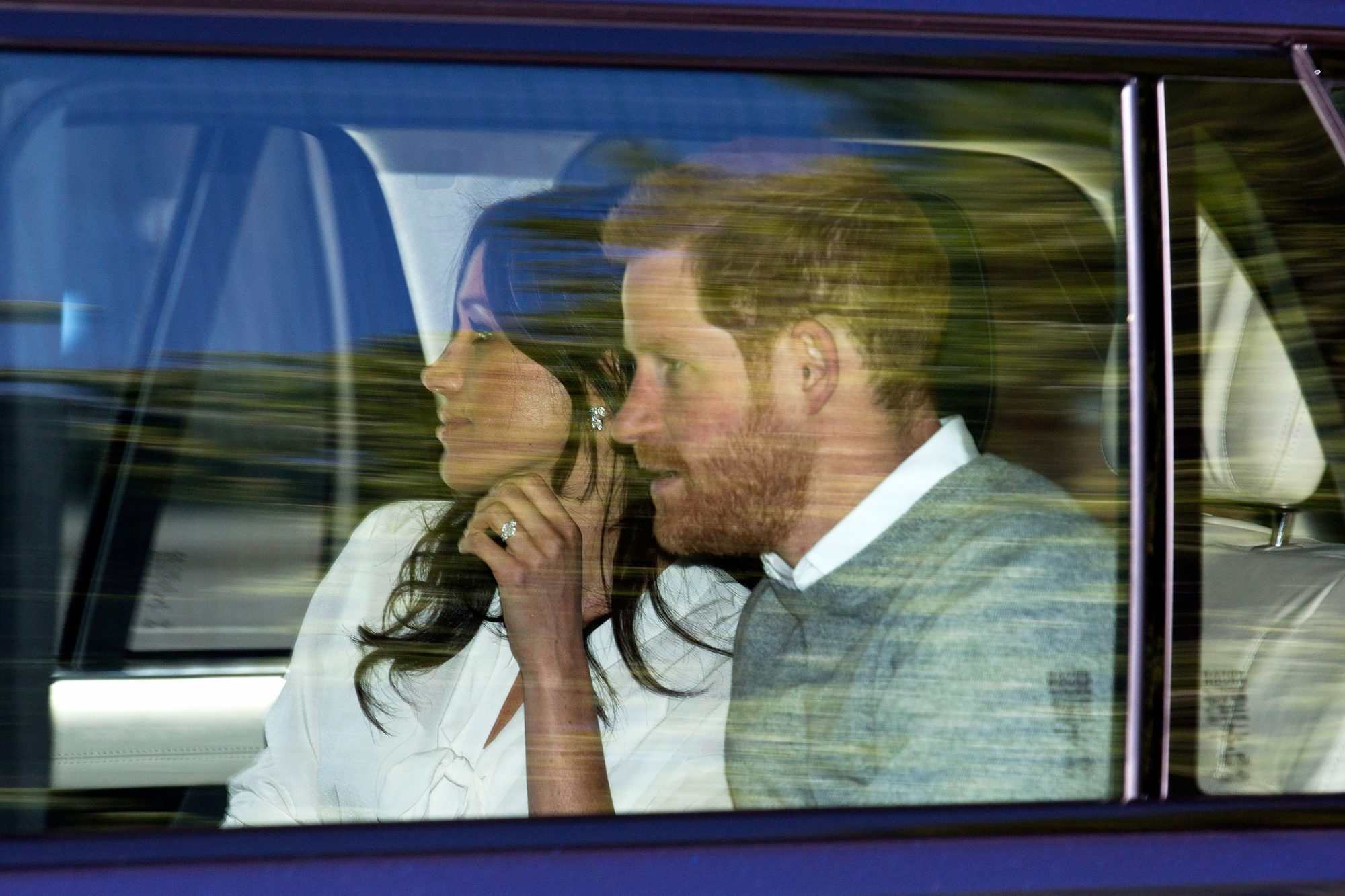Prince Harry and Meghan Markle Wedding Rehearsals