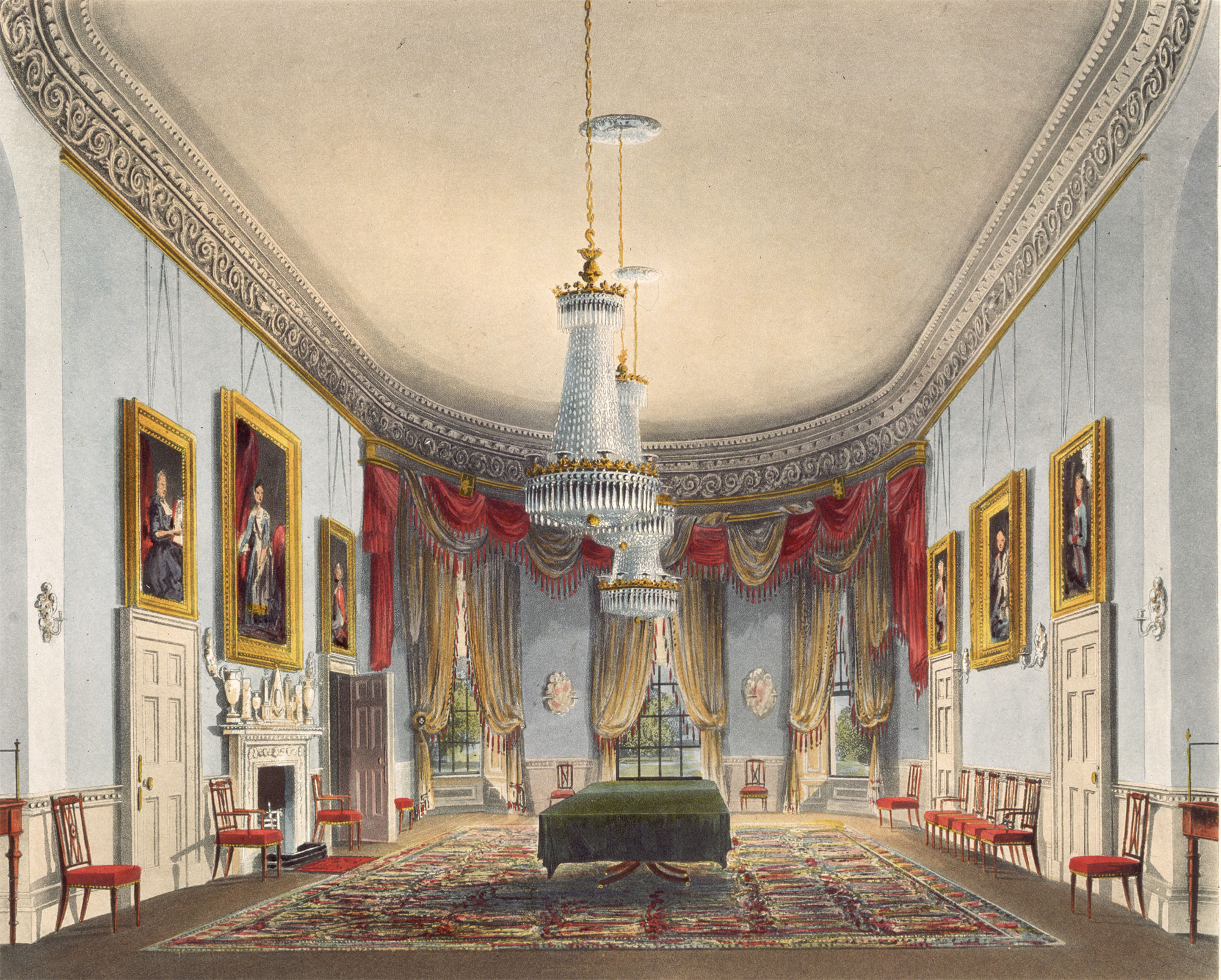 Drawing Room at Frogmore, 1819