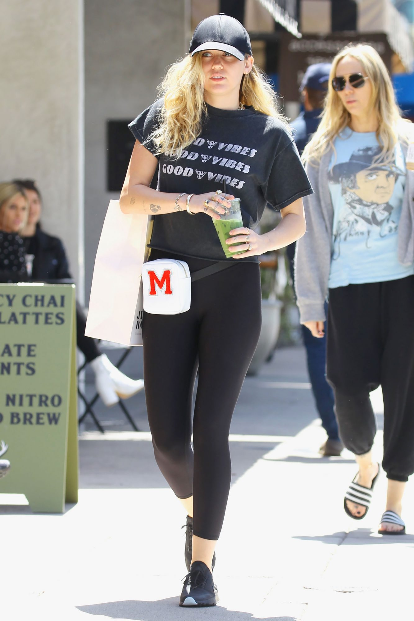 Miley Cyrus was spotted shopping with her mom in Studio City