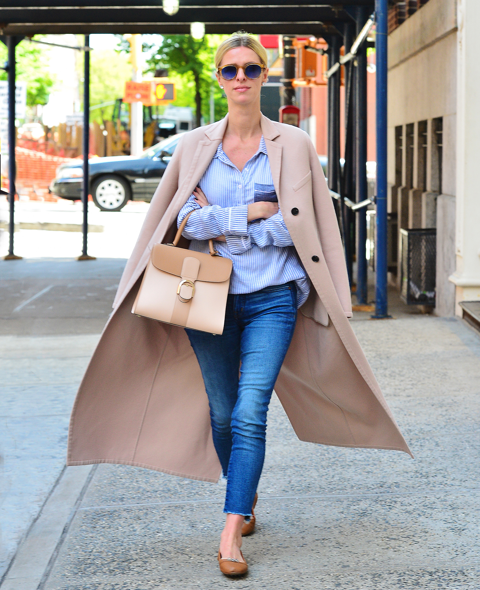 Nicky Hilton looking stylish as she steps out on a sunny day in NYC