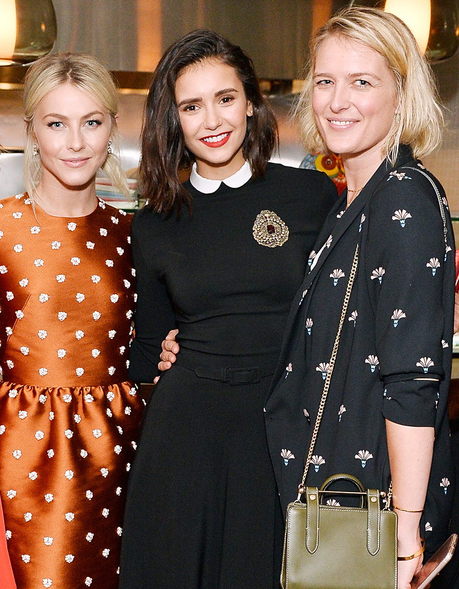 Nina Dobrev celebrates the harper by Harper's BAZAAR September Issue with an Event Presented By Sephora In LA