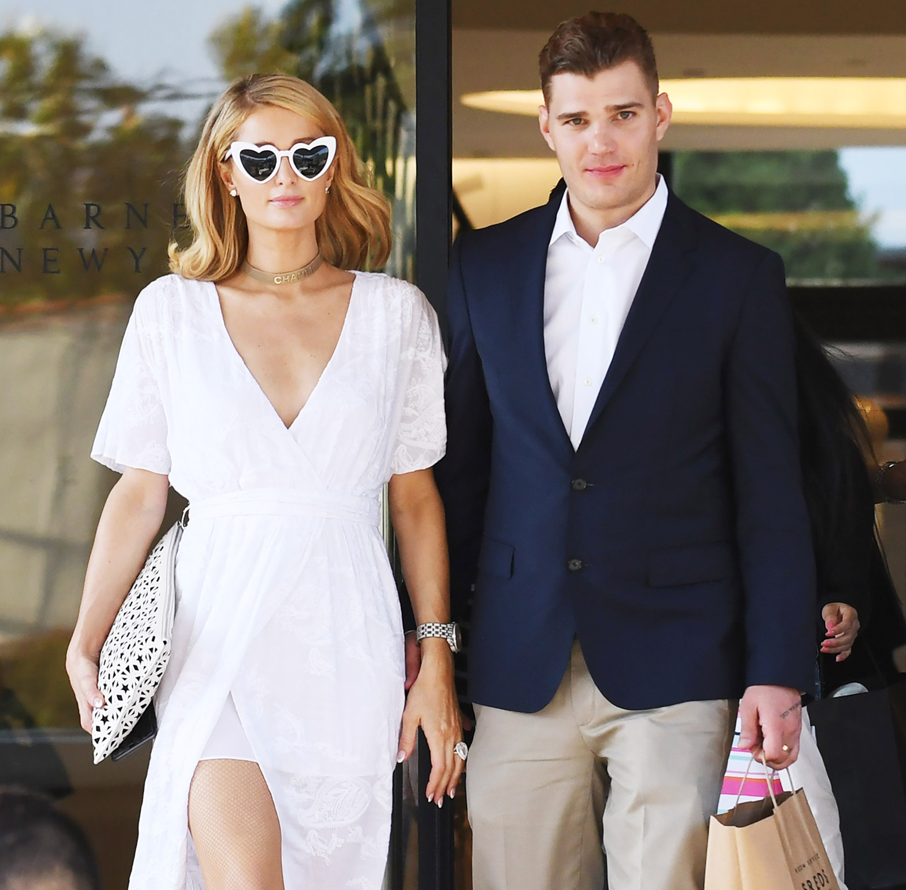 Paris Hilton and Chris Zylka out and about, Beverly Hills, Los Angeles, USA - 09 May 2018