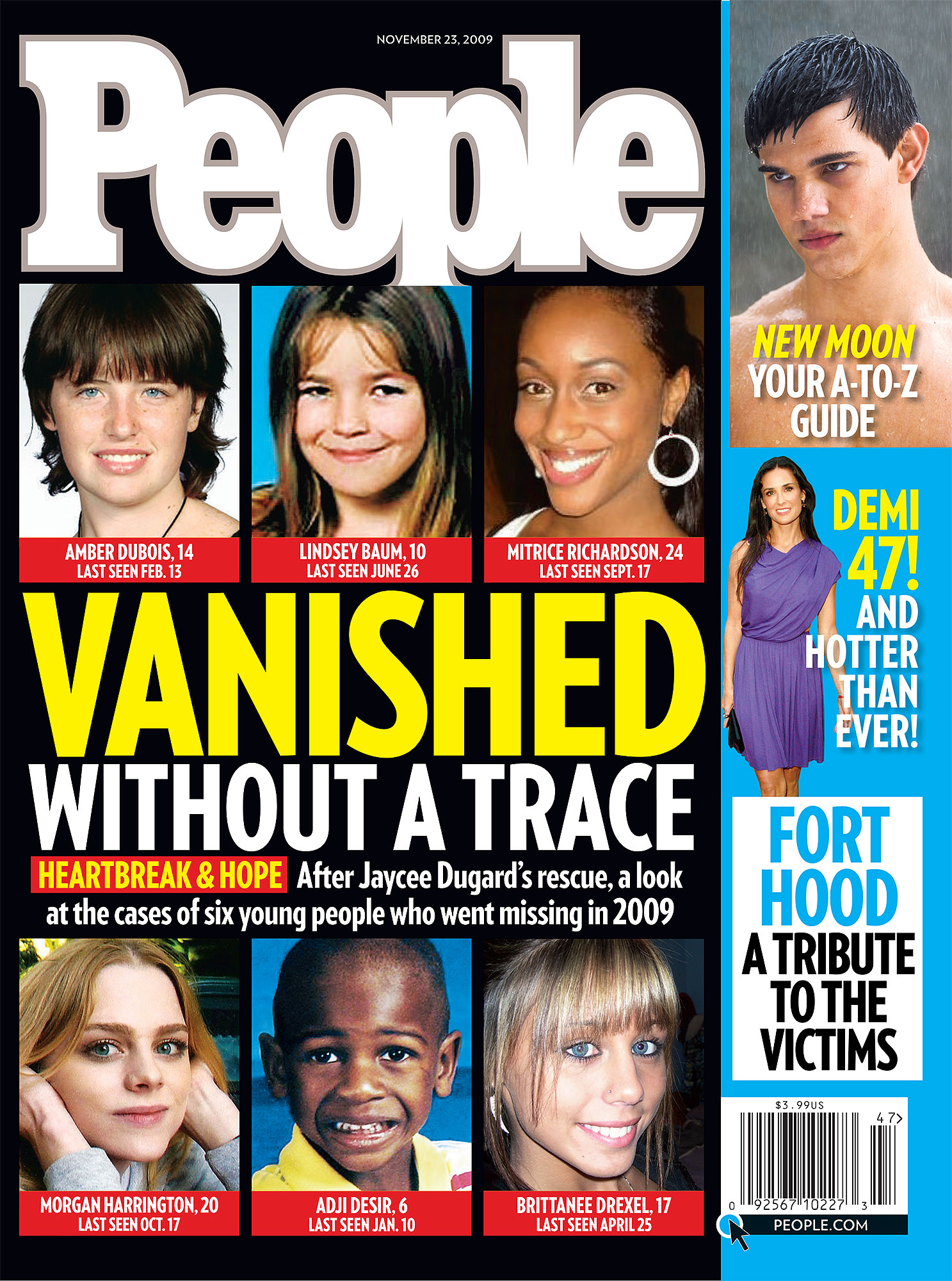 People cover November 23 2009