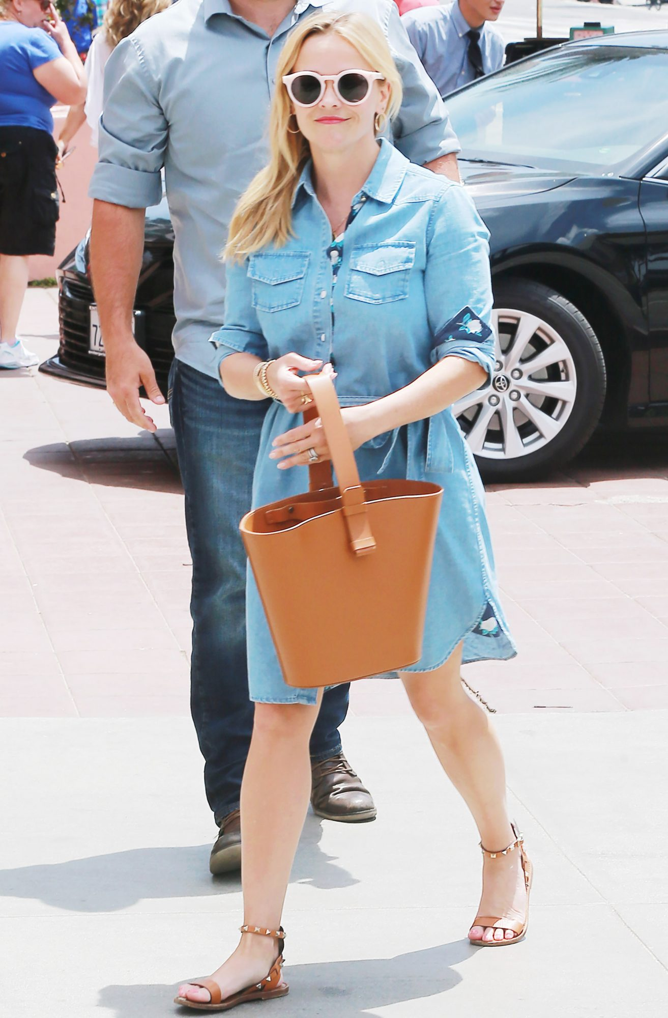 Reese Witherspoon out and about, Los Angeles, USA - 06 May 2018