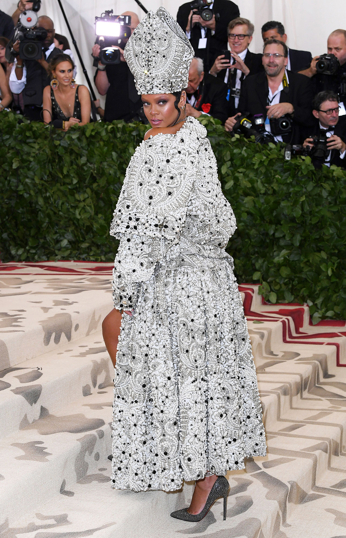The Metropolitan Museum of Art's Costume Institute Benefit celebrating the opening of Heavenly Bodies: Fashion and the Catholic Imagination, Arrivals, New York, USA - 07 May 2018