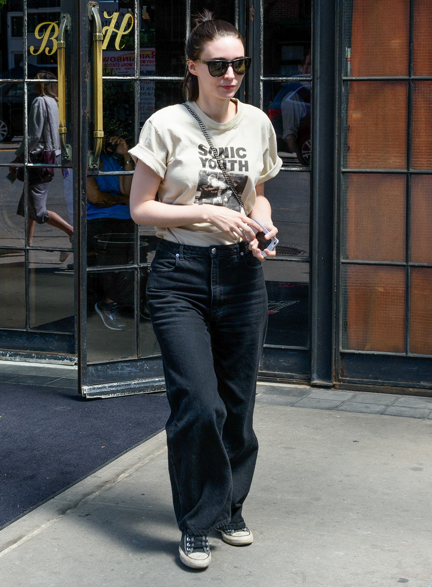 EXCLUSIVE: Rooney Mara is Pictured Out and About in New York City