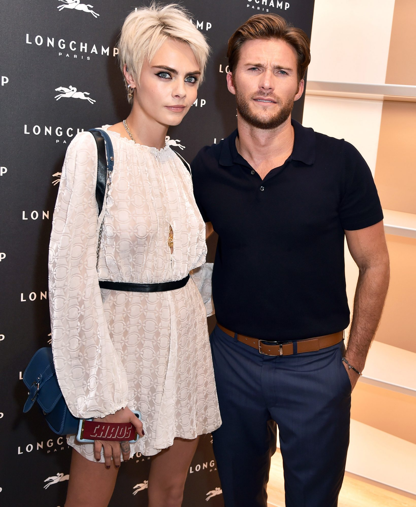 Longchamp Fifth Avenue store opening, Inside, New York, USA - 03 May 2018