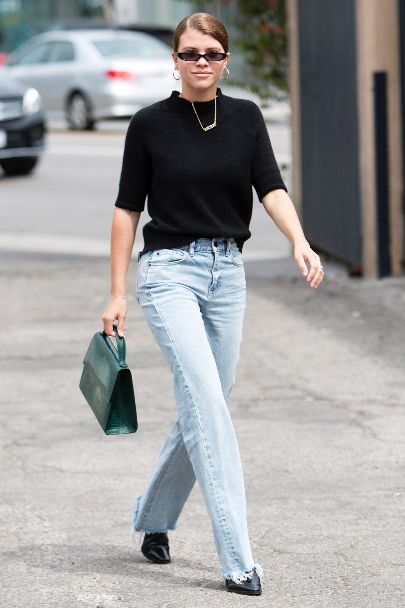Sofia Richie looks chic as she leaves Zimmermann Boutique after shopping