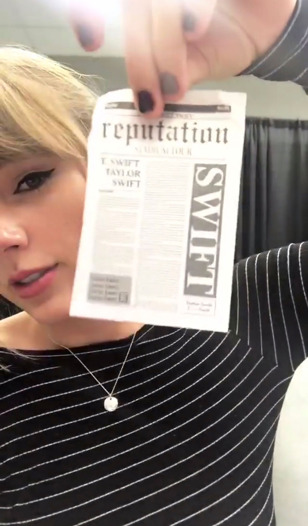 Taylor Swift reputation tourCredit: Taylor Swift/Instagram