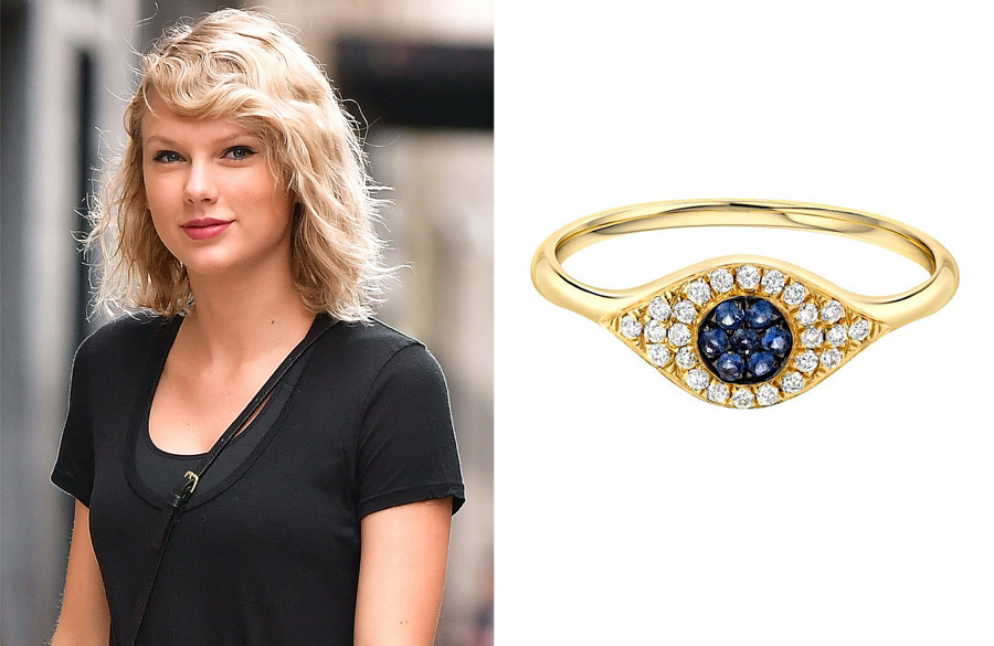 13 Evil Eye Jewelry Pieces To Shop Inspired By Taylor Swift S Eye Catching Ring People Com