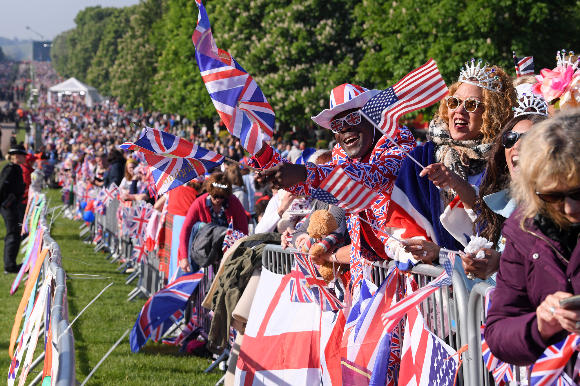 The wedding of Prince Harry and Meghan Markle, Preparations, Windsor, Berkshire, UK -  19 May 2018