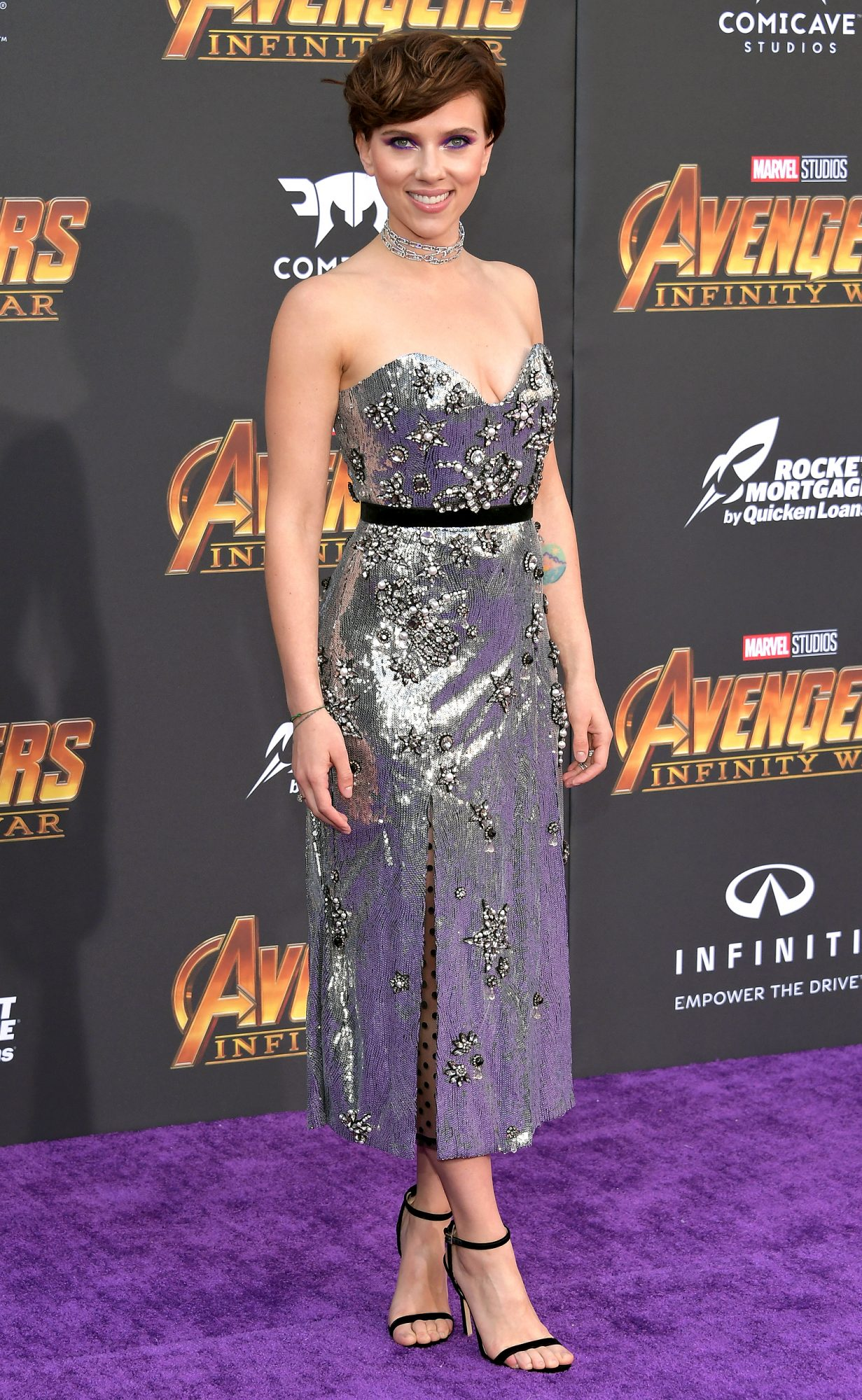 """Premiere Of Disney And Marvel's """"Avengers: Infinity War"""" - Arrivals"""