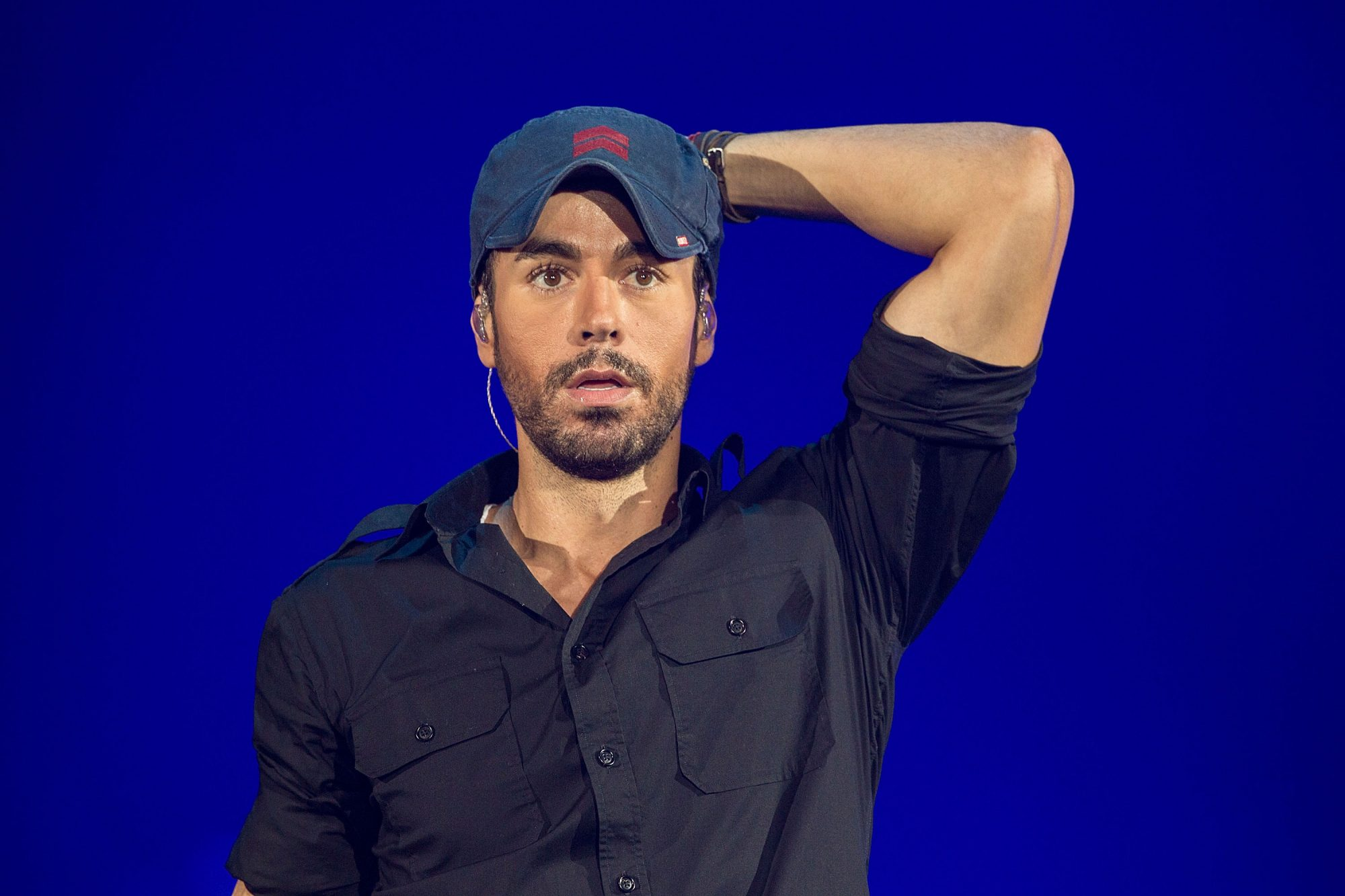 Enrique Iglesias And Pitbull Perform At Valley View Casino Center
