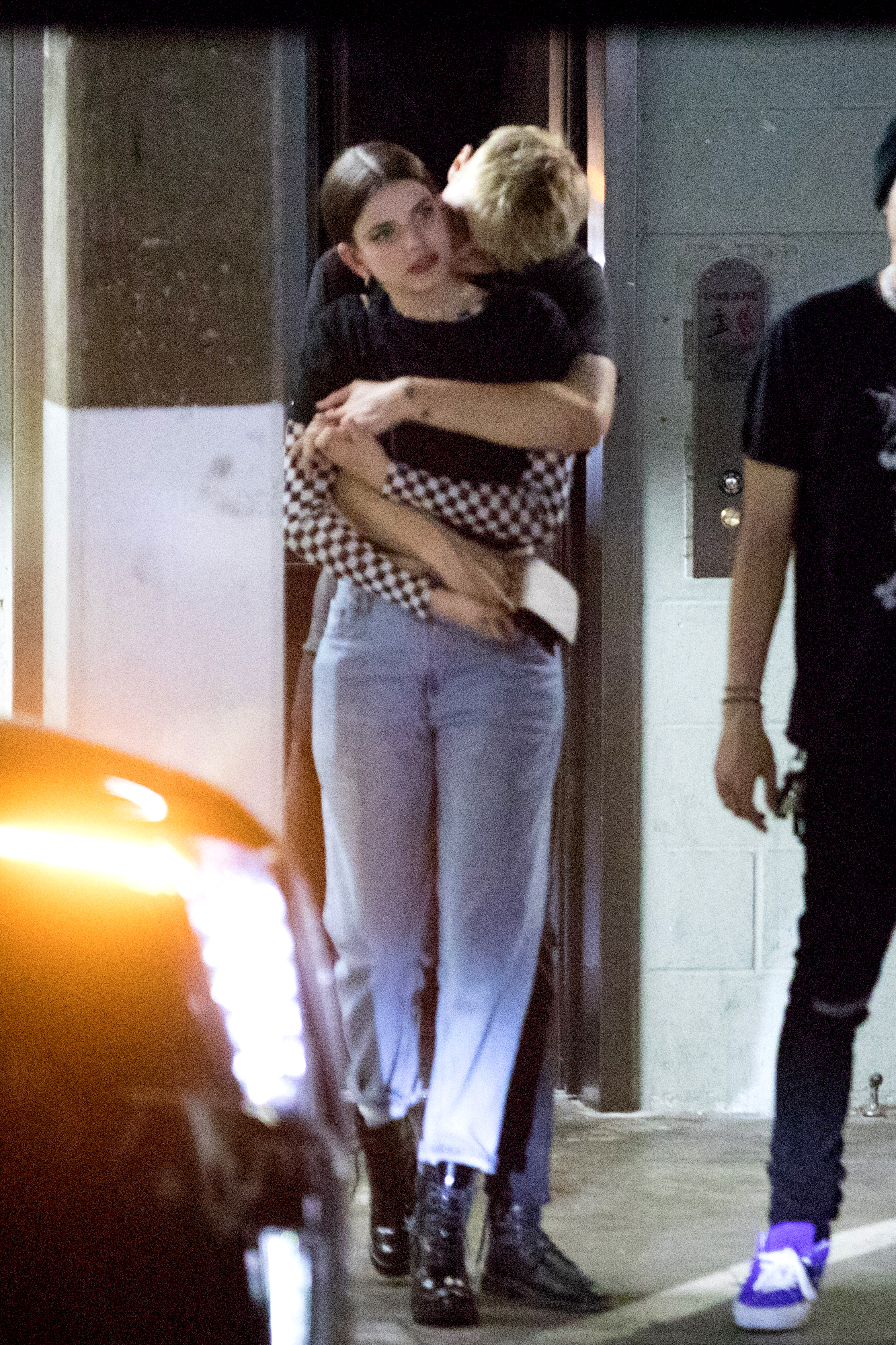 Anwar Hadid Is Spotted With New Girlfriend Leaving Poppy In Los Angeles